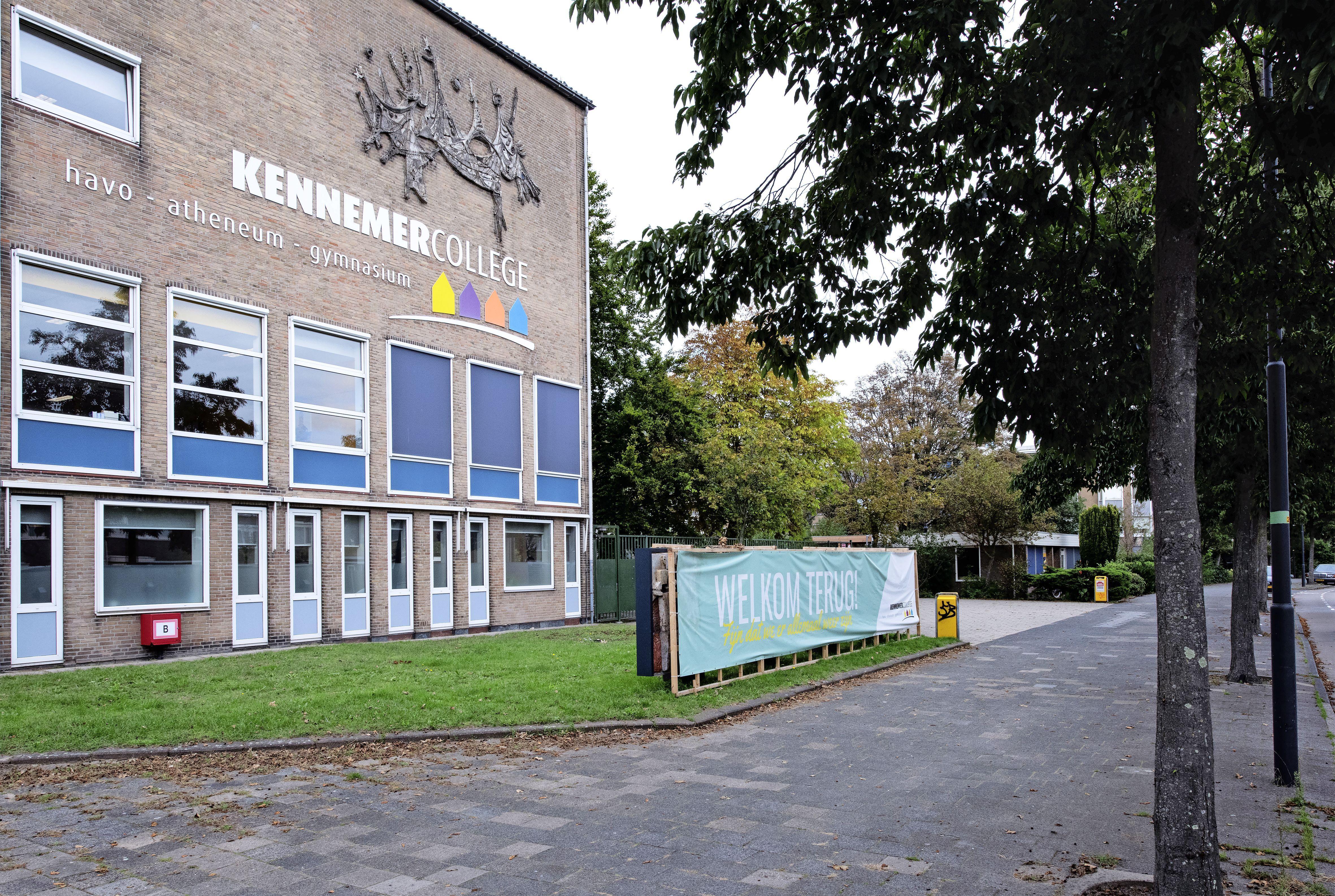 Een op drie scholieren Kennemer College in Heemskerk en Beverwijk in stress door corona