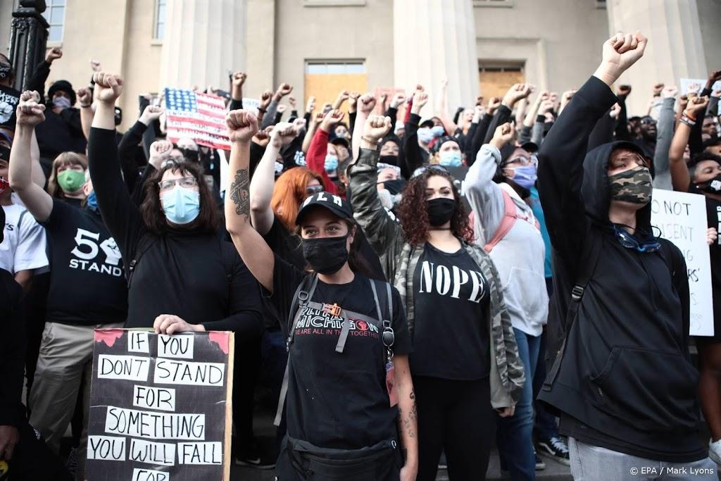 Opnieuw demonstraties in Louisville, avondklok verlengd