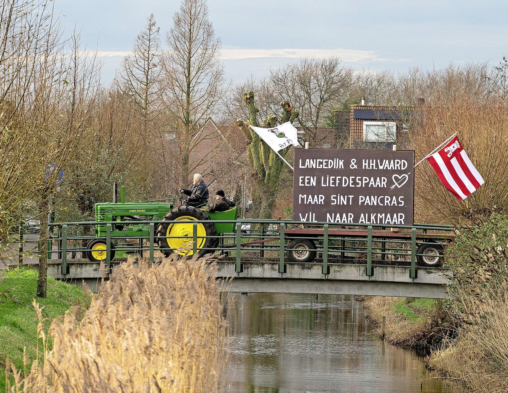 Motie in Tweede Kamer: als Sint Pancras en Koedijk na de fusie ontevreden zijn, moet grenscorrectie met Alkmaar mogelijk zijn