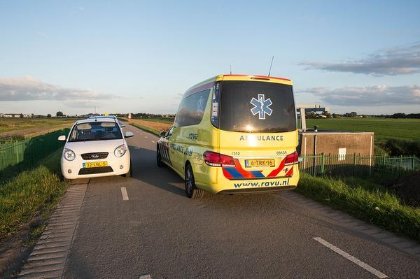 Veel hulpdiensten op de been na val wielrenner Bunschoten-Spakenburg
