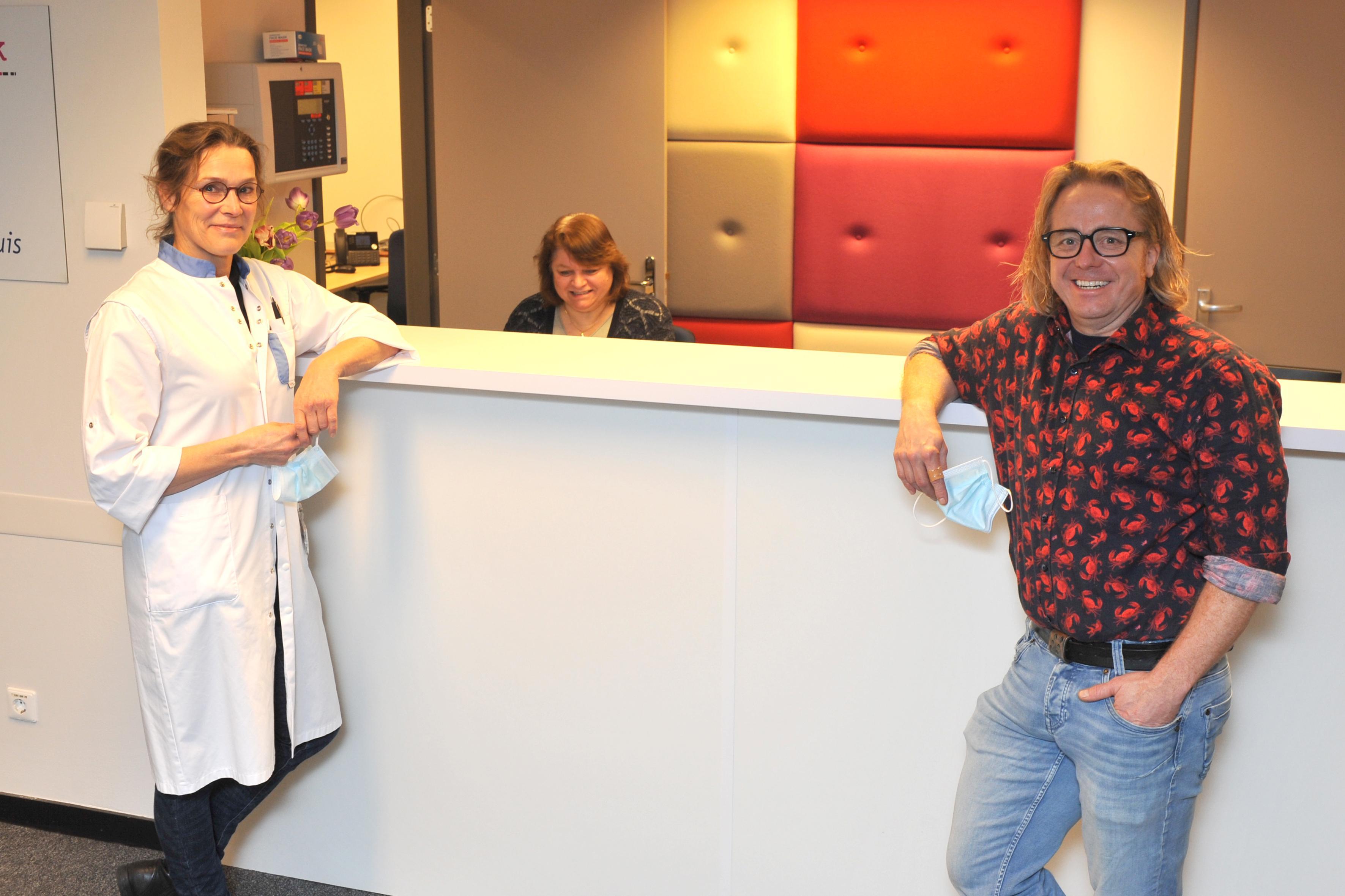 Het Rode Kruis Ziekenhuis Slaapcentrum groeide uit zijn jasje en is daarom naar Heemskerk verhuisd. 'Buitenkans om alles wat we doen opnieuw in te richten', zegt longarts Erik Kapteijns
