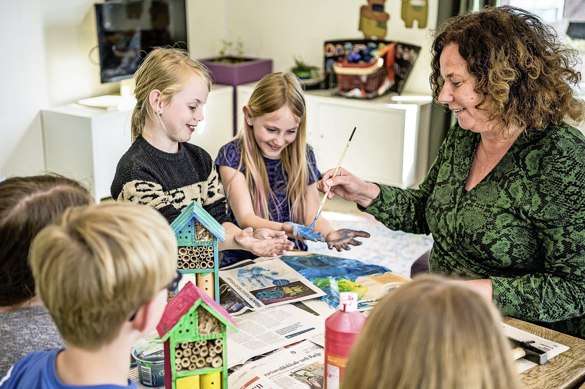 De buitenschoolse opvang in Assendelft verwelkomt weer meer dan vijftig kinderen: 'Het is een soort openingsfeestje'