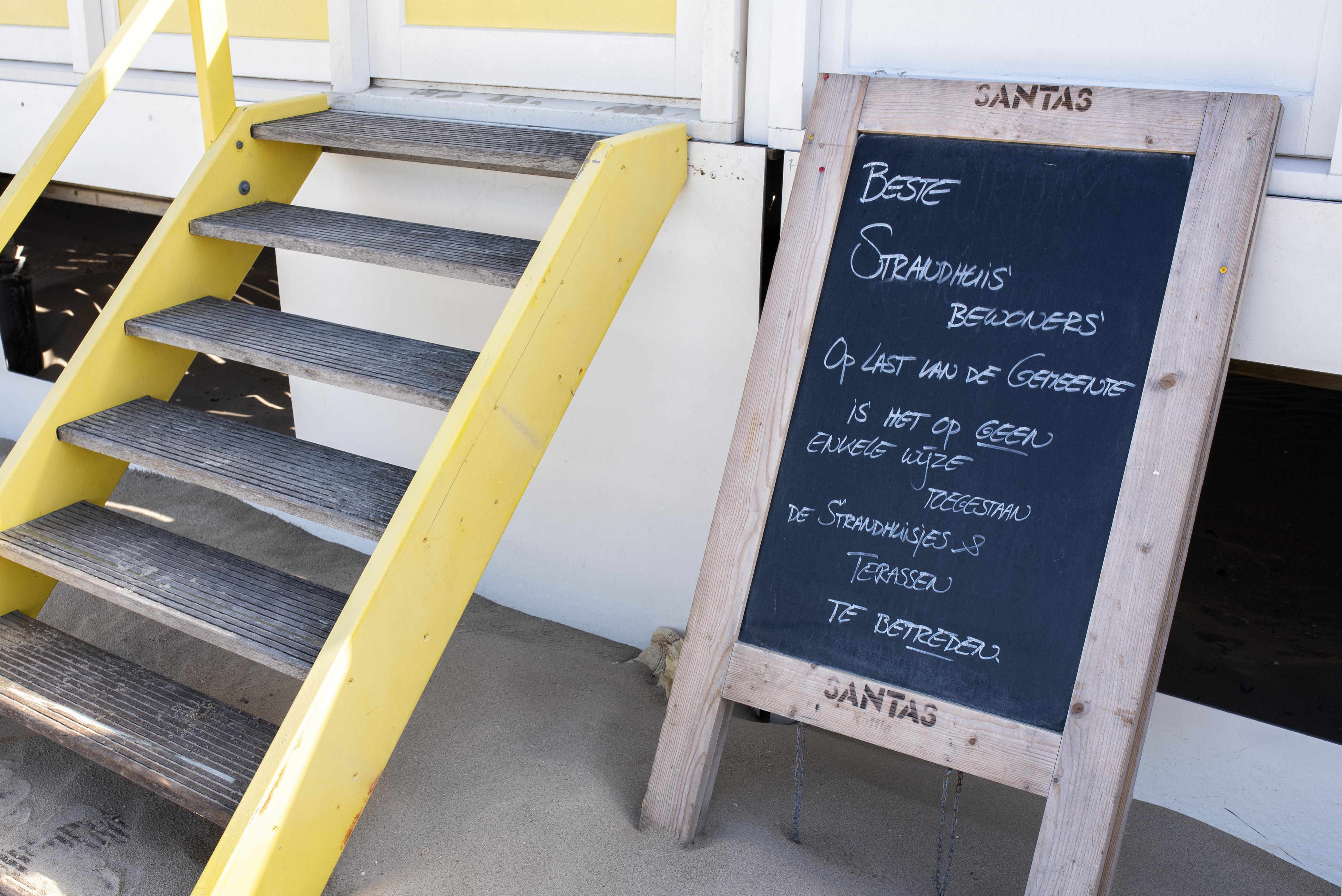 Strandhuisjes Castricum mogelijk vrijdag weer open