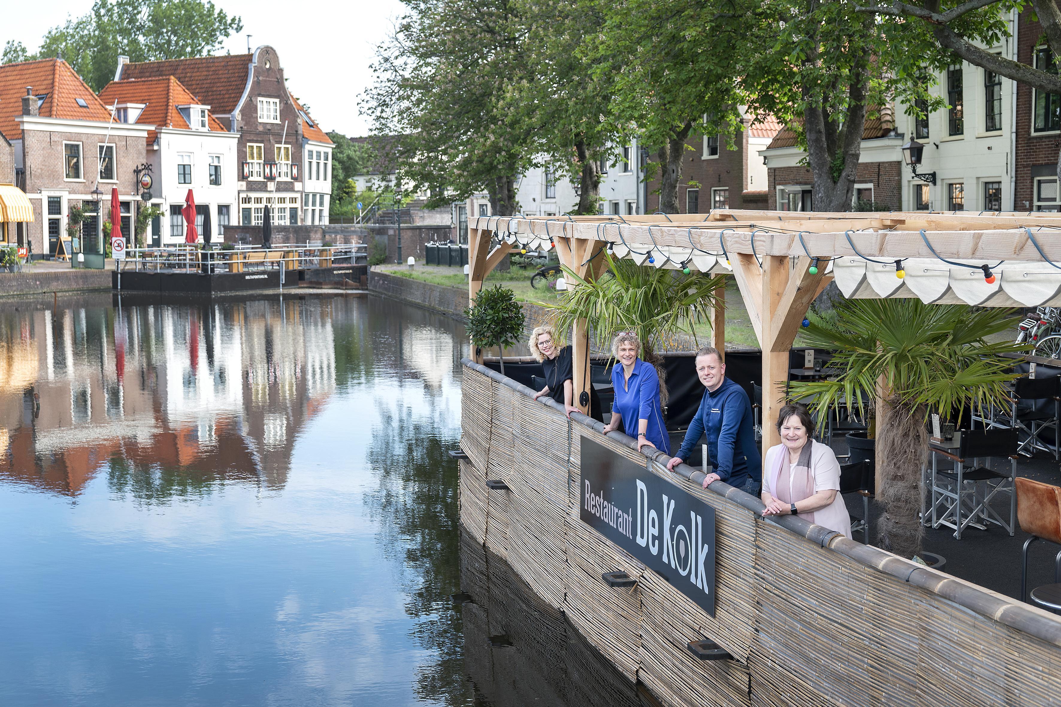 Restauratie van De Kolksluis in Spaarndam: balanceren in een openluchtmuseum
