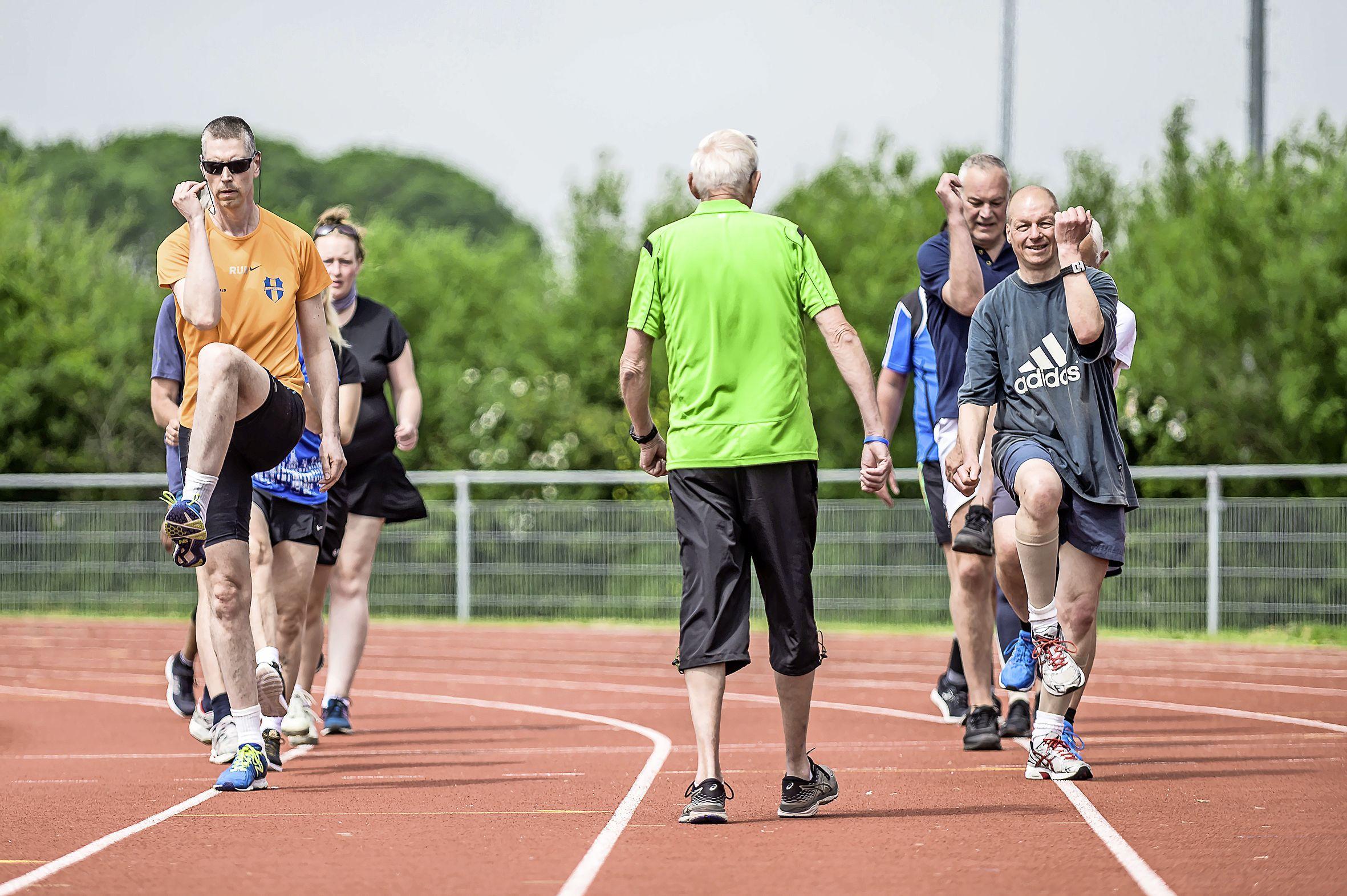 Running therapie in Assendelft helpt mensen met psychische beperking: 'Ik slaap nu als een os'