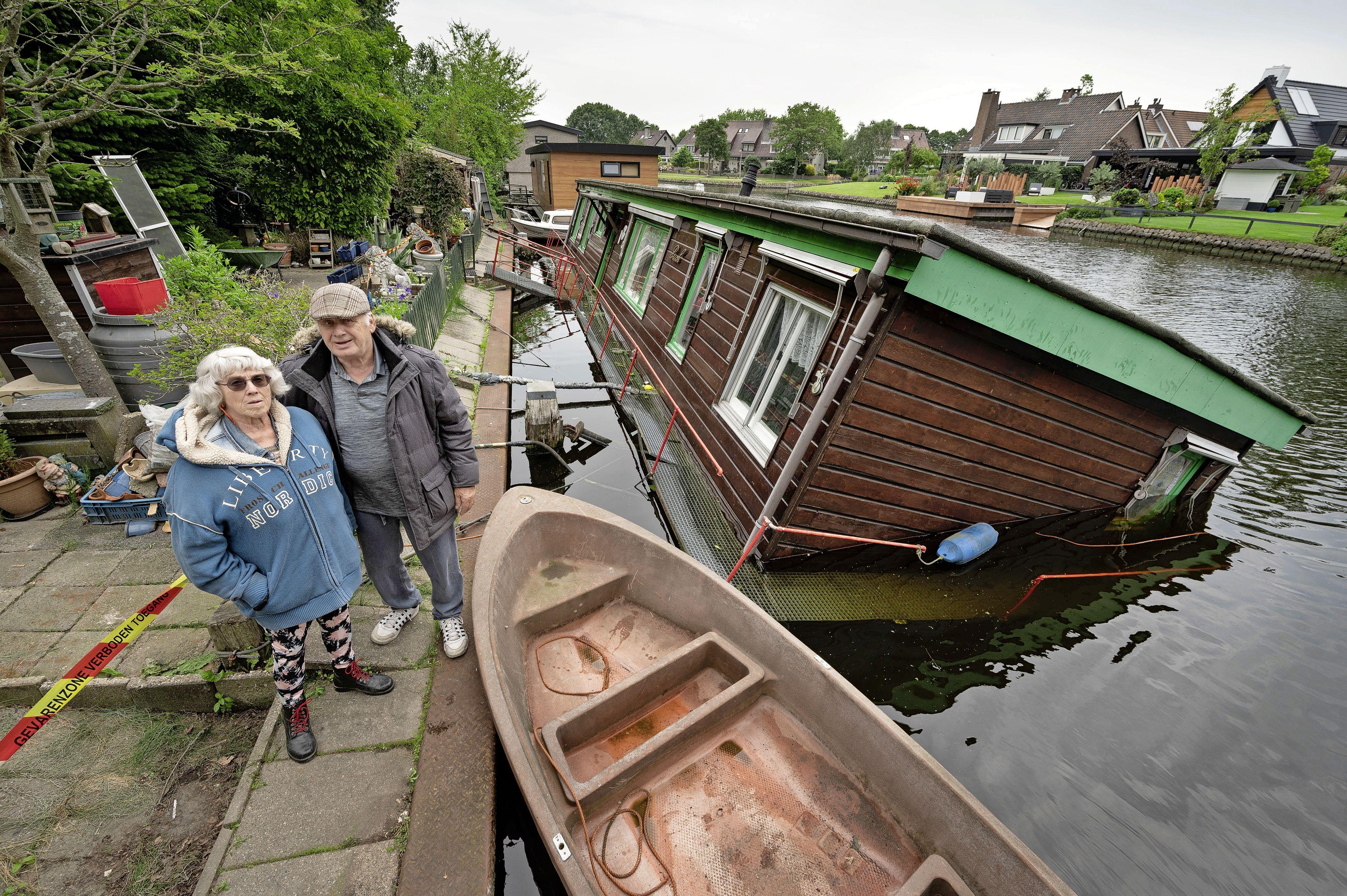 Wim (81) en Elly (74) Verhart uit Katwijk 'hebben niets meer' na het wegzakken van hun droomboot