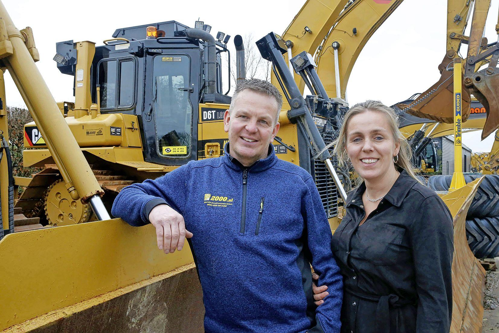 Oplichters gebruiken ook de shovels en bulldozers van bedrijf in Winkel. 'Er moeten miljoenen euro's worden verdiend'