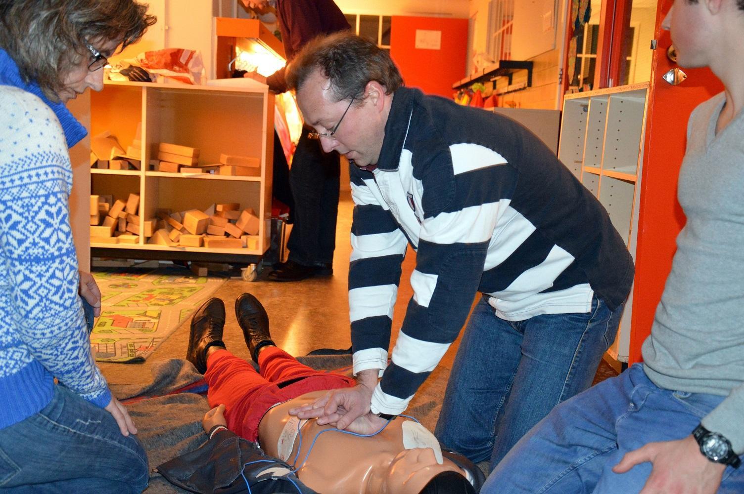 Gratis reanimatietrainingen weer van start in Heemstede
