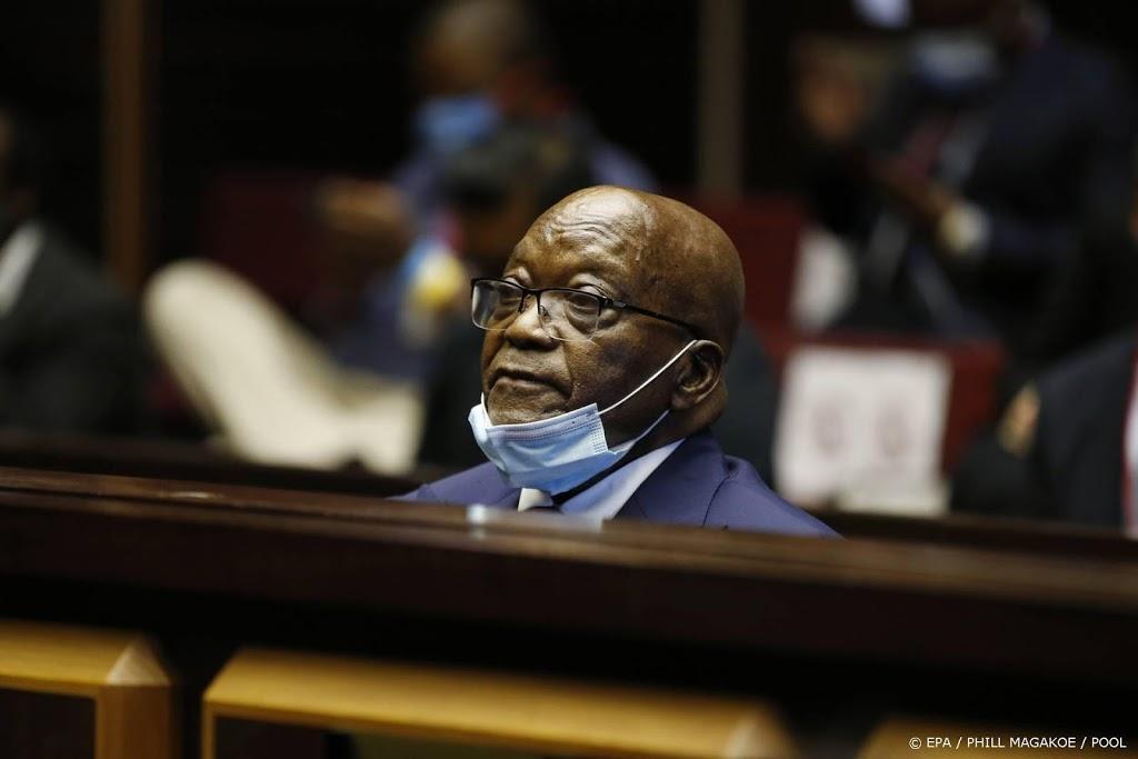 Oud-president Zuid-Afrika veroordeeld tot vijftien maanden cel