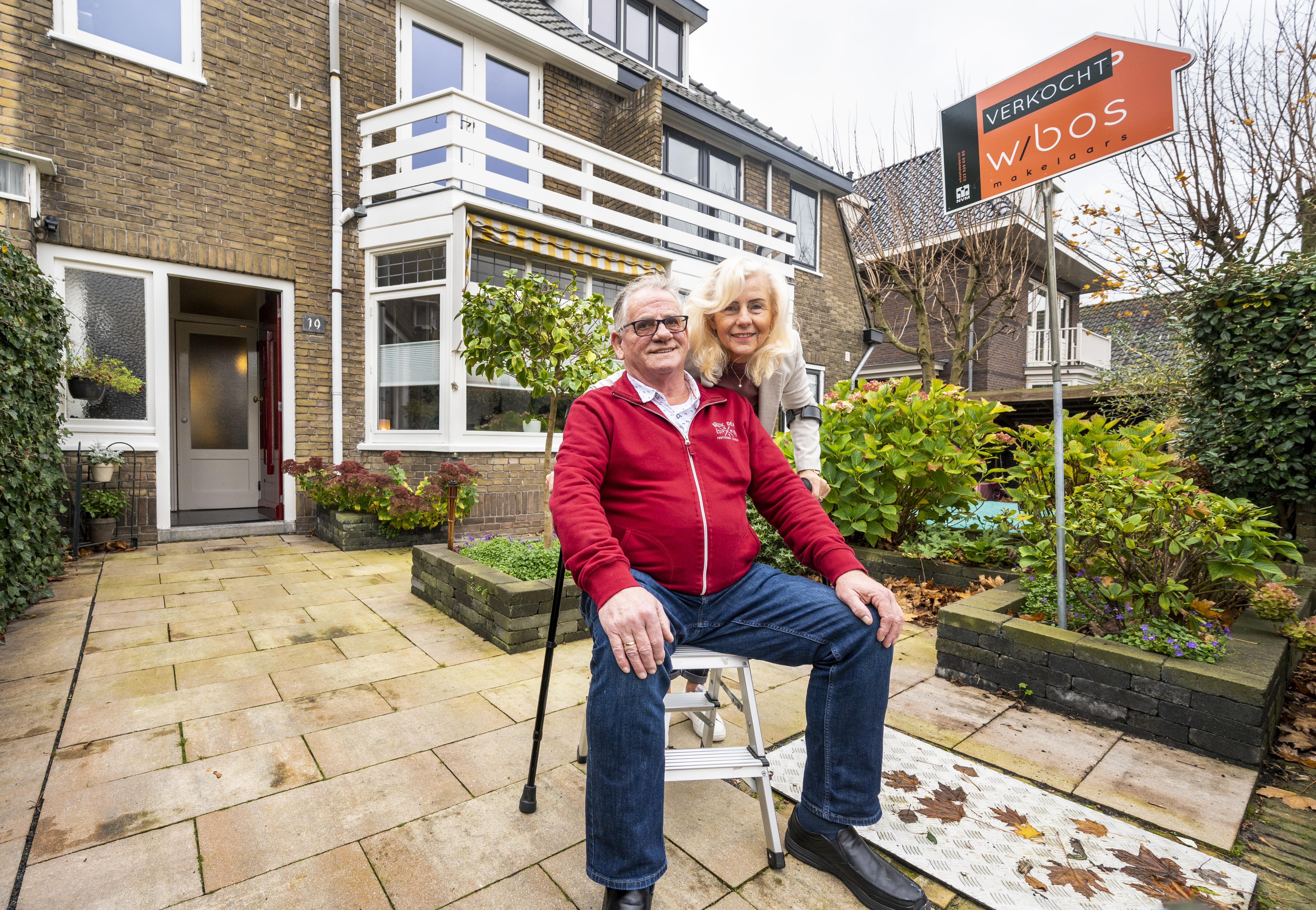 Na 71 jaar eindelijk het huis uit, straatnestor Peter Habraken verlaat met een gevoel van weemoed het Haarlemse Ramplaankwartier