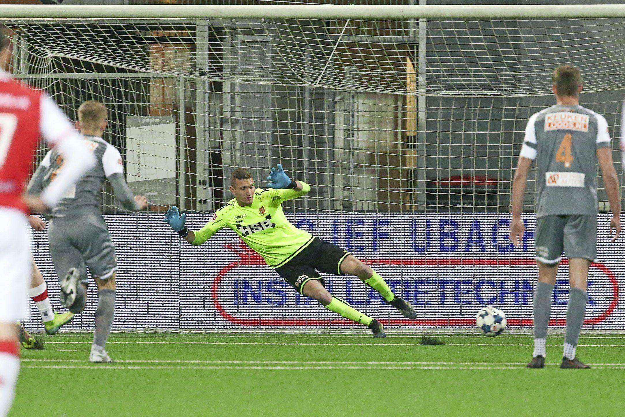Late gelijkmaker MVV berooft Volendam van zeker ticket voor nacompetitie en doelman Nordin Bakker van mooi affiche voor nieuwe club [video]