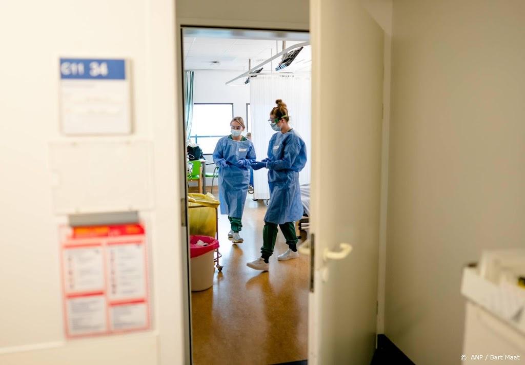 Iets meer coronapatiënten opgenomen in ziekenhuizen