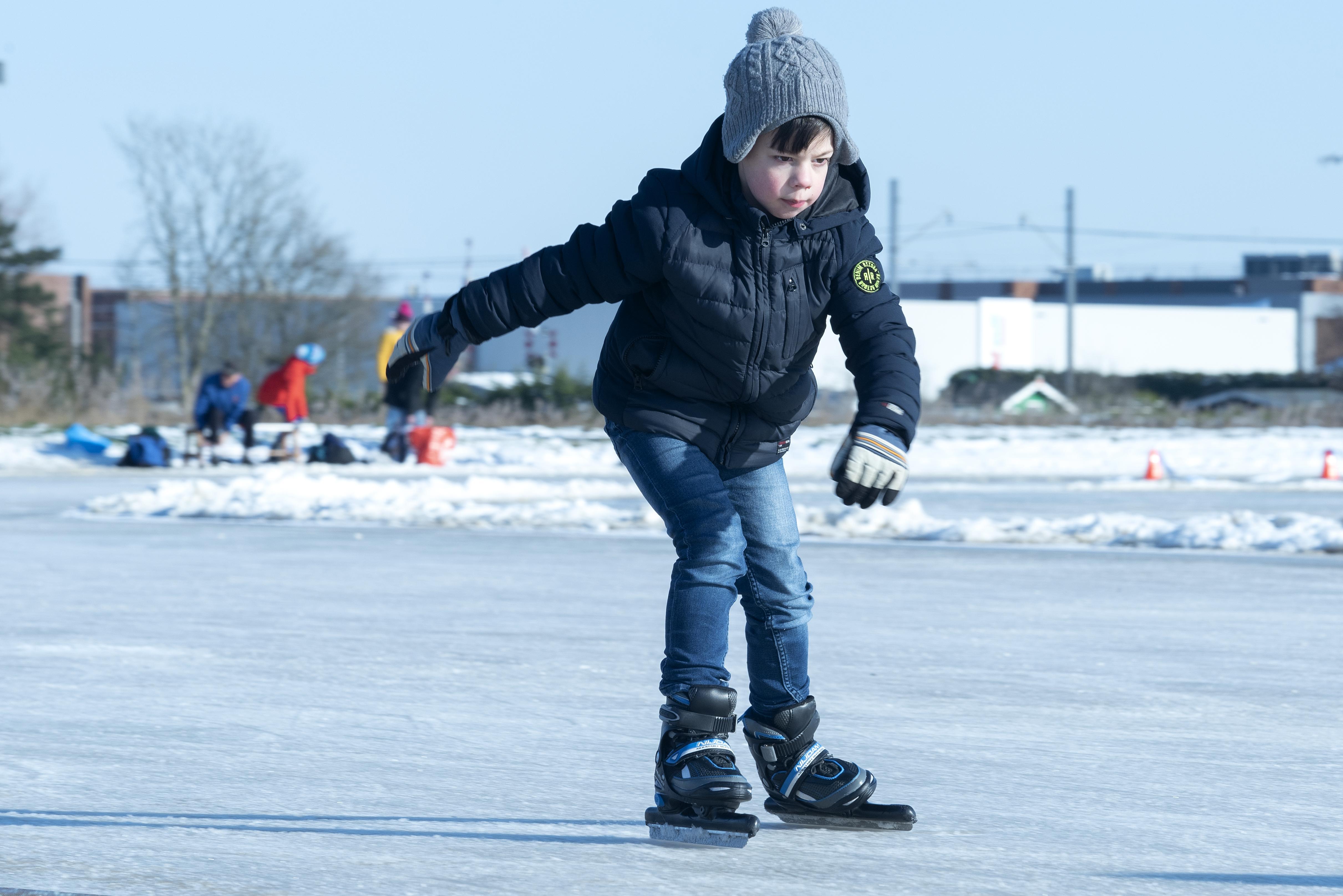 Oproep: deel je schaatspret met IJmuider Courant/Dagblad Kennemerland!