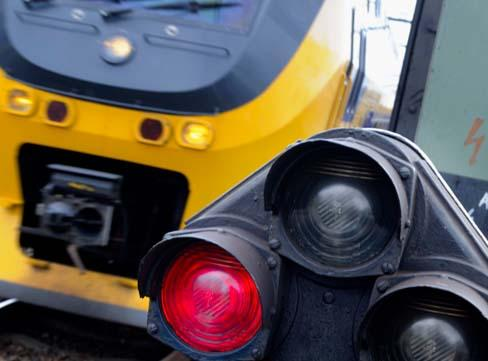 Treinen tussen Haarlem en Leiden rijden weer na aanrijding [update]