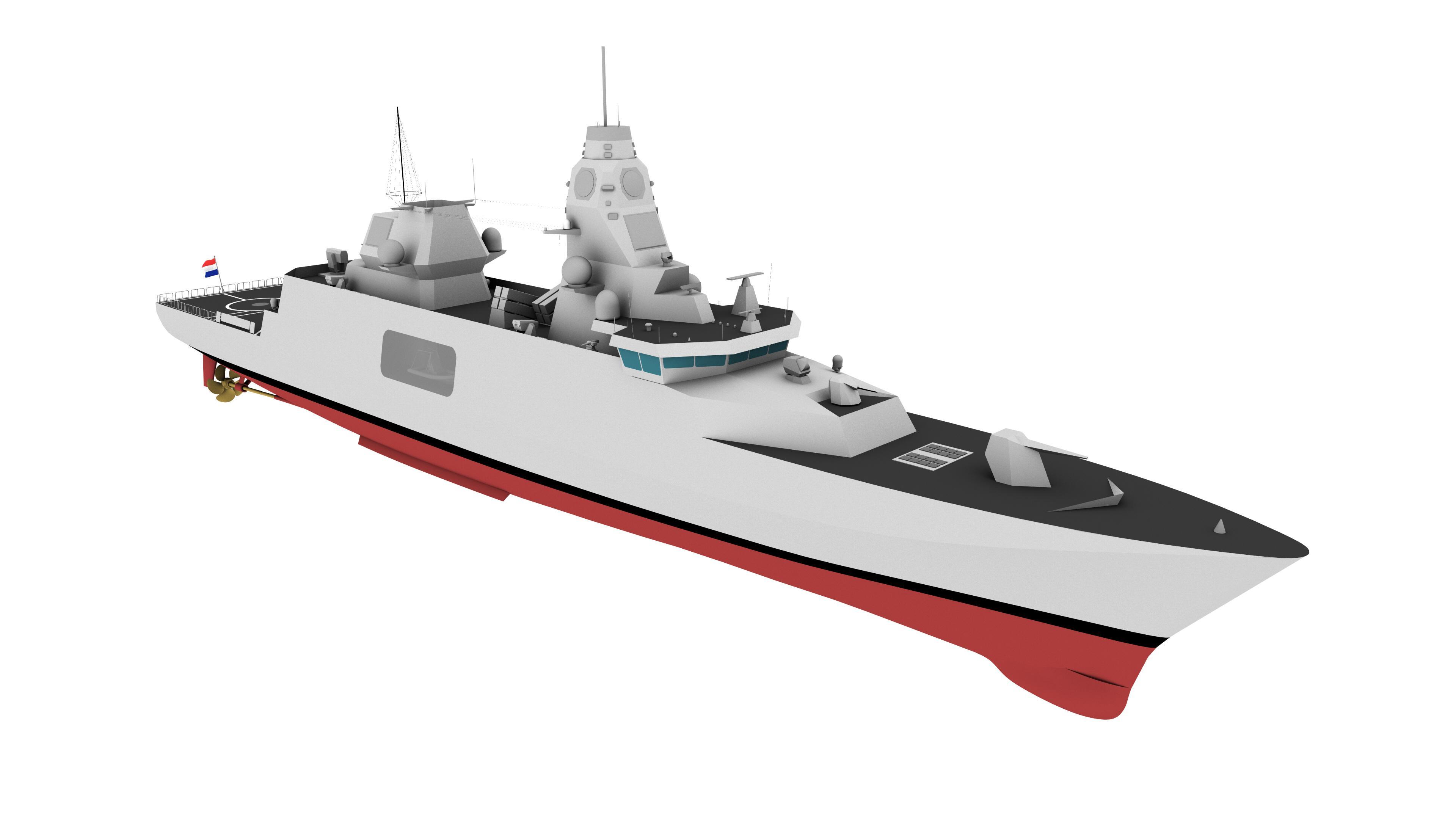 De kogel is door de kerk: de marine krijgt nieuwe fregatten, mét laserkanonnen