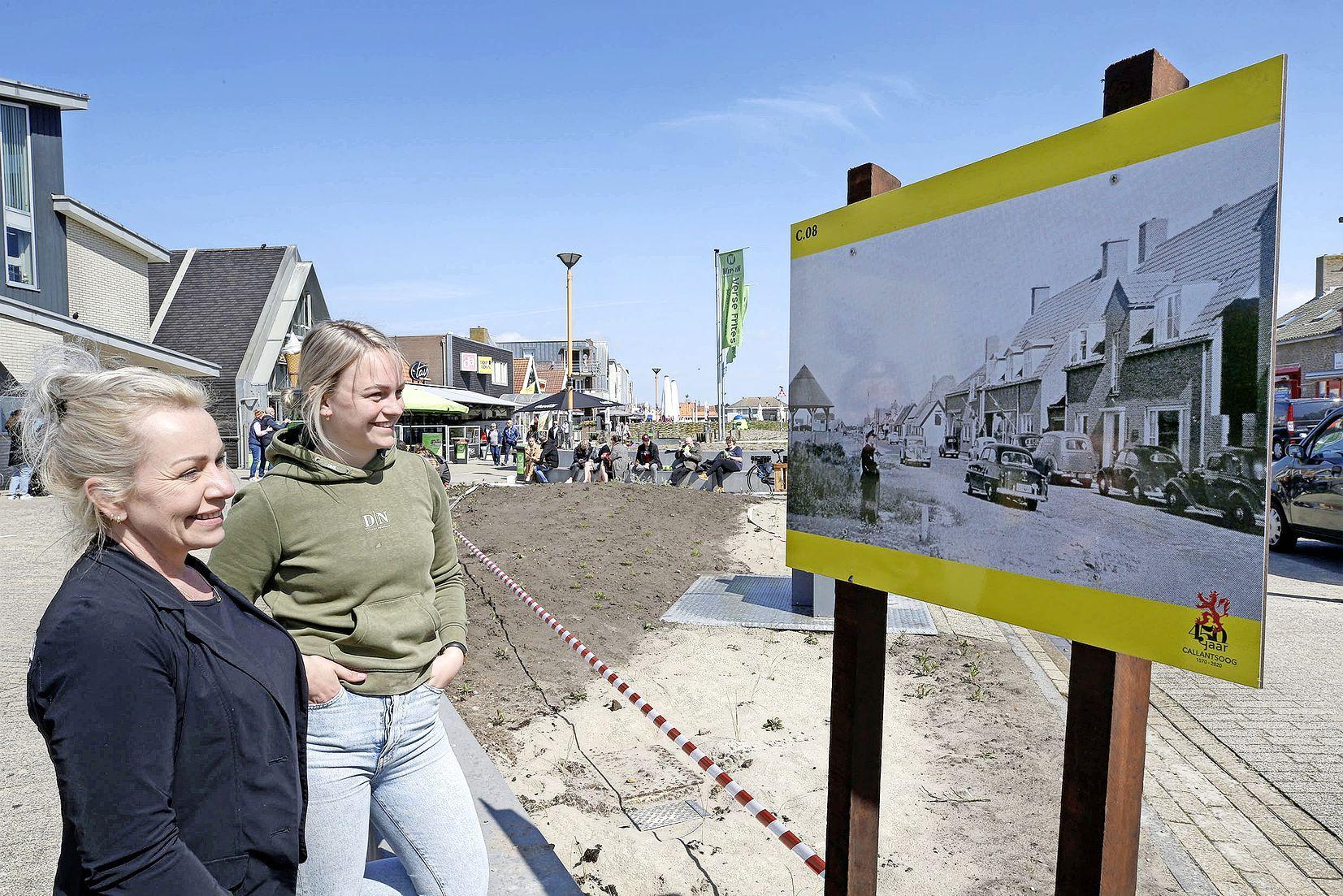Doe een enorme stap terug in de tijd in Callantsoog. Een historische wandeling met foto's uit de oude doos laat zien hoe de badplaats veranderd is