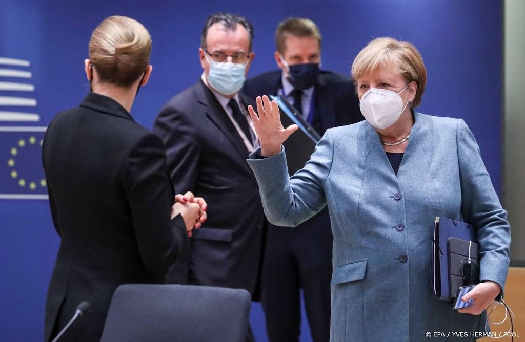 EU-leiders spreken regelmatig videocontact over corona af