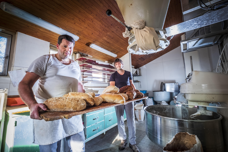Overgrootvader Cornelis Bakker kan trots zijn op zijn navolgers in de bakkerij