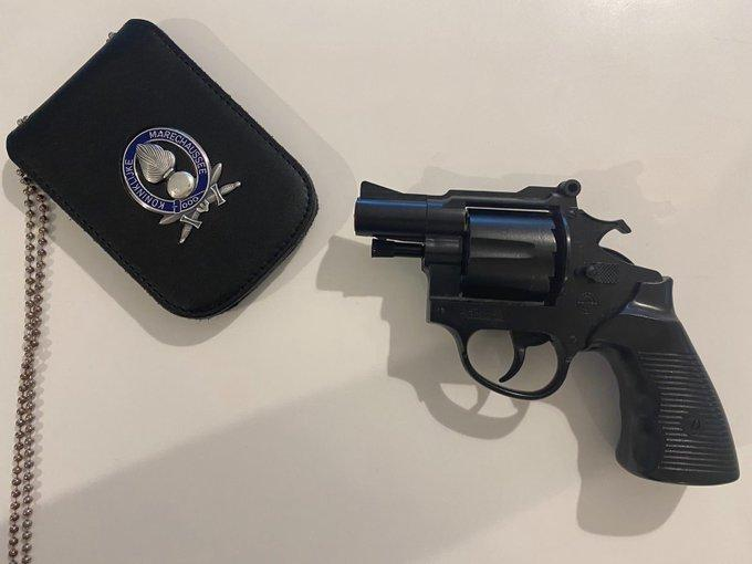 Speelgoedpistool op Schiphol kost passagier 500 euro boete