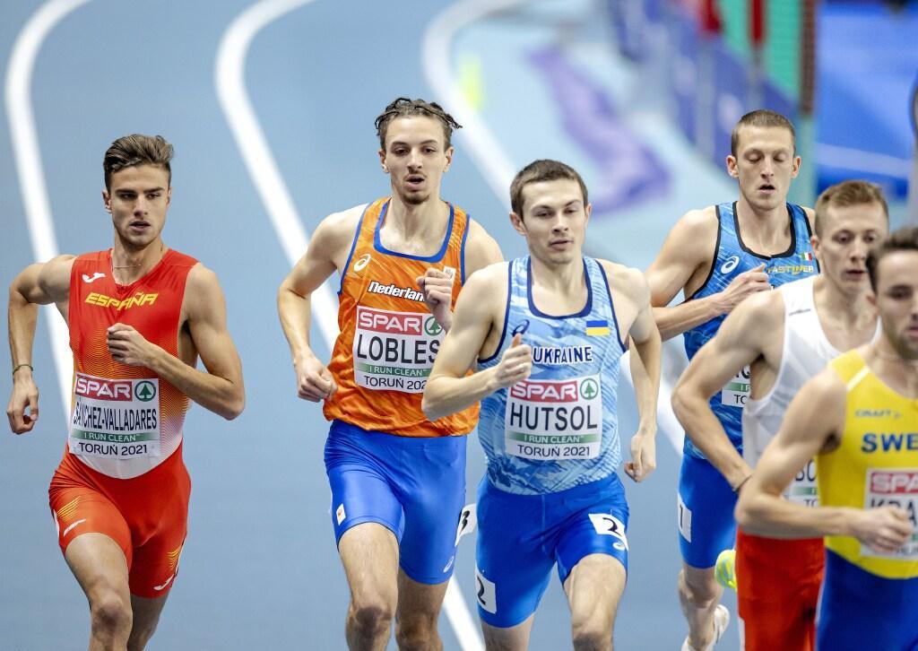 Helderse Djoao Lobles niet door naar halve finale 800 meter op EK indooratletiek