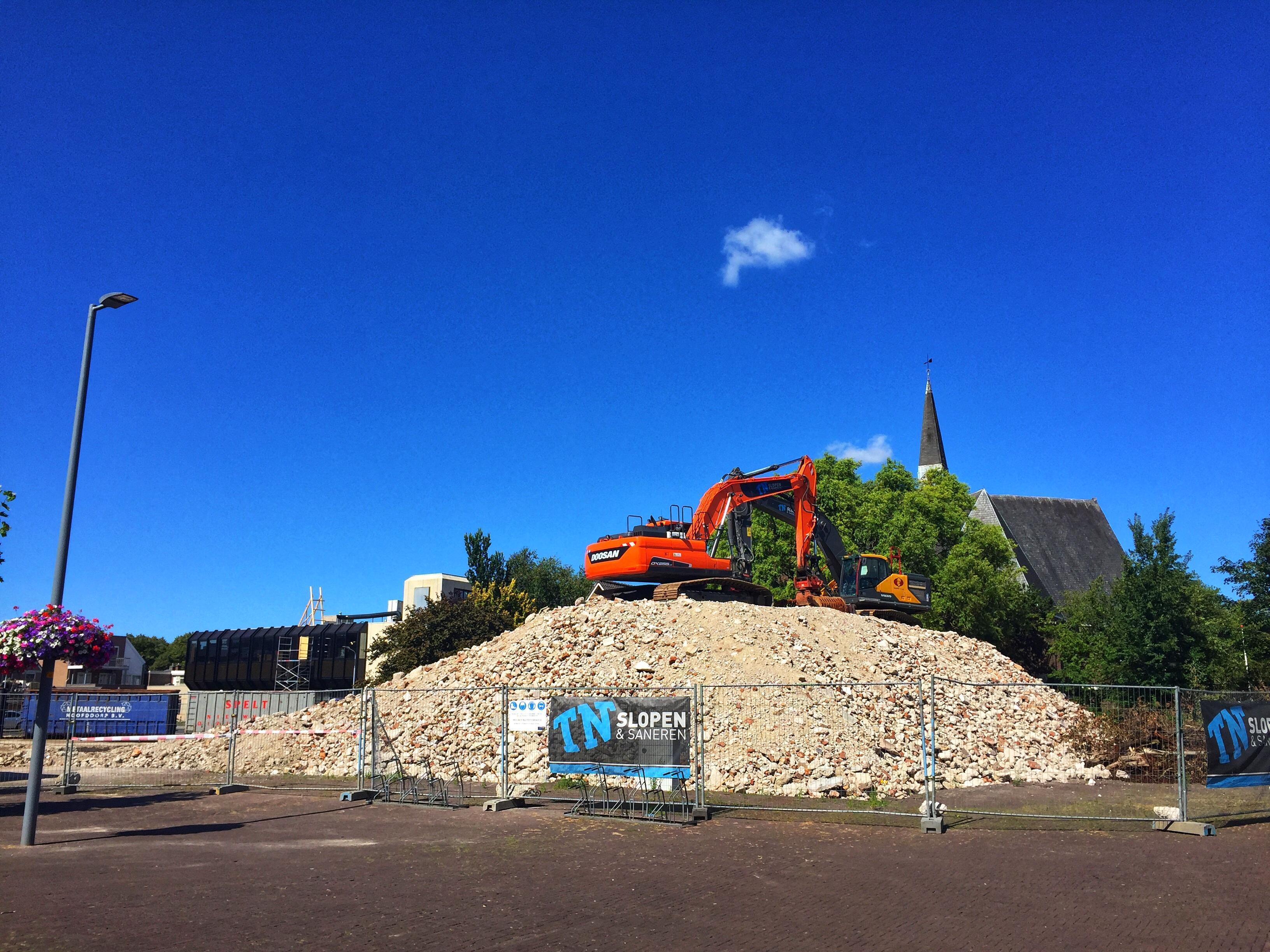 V&D-gebouw en De Deining in centrum Hoofddorp gesloopt voor nieuwbouw
