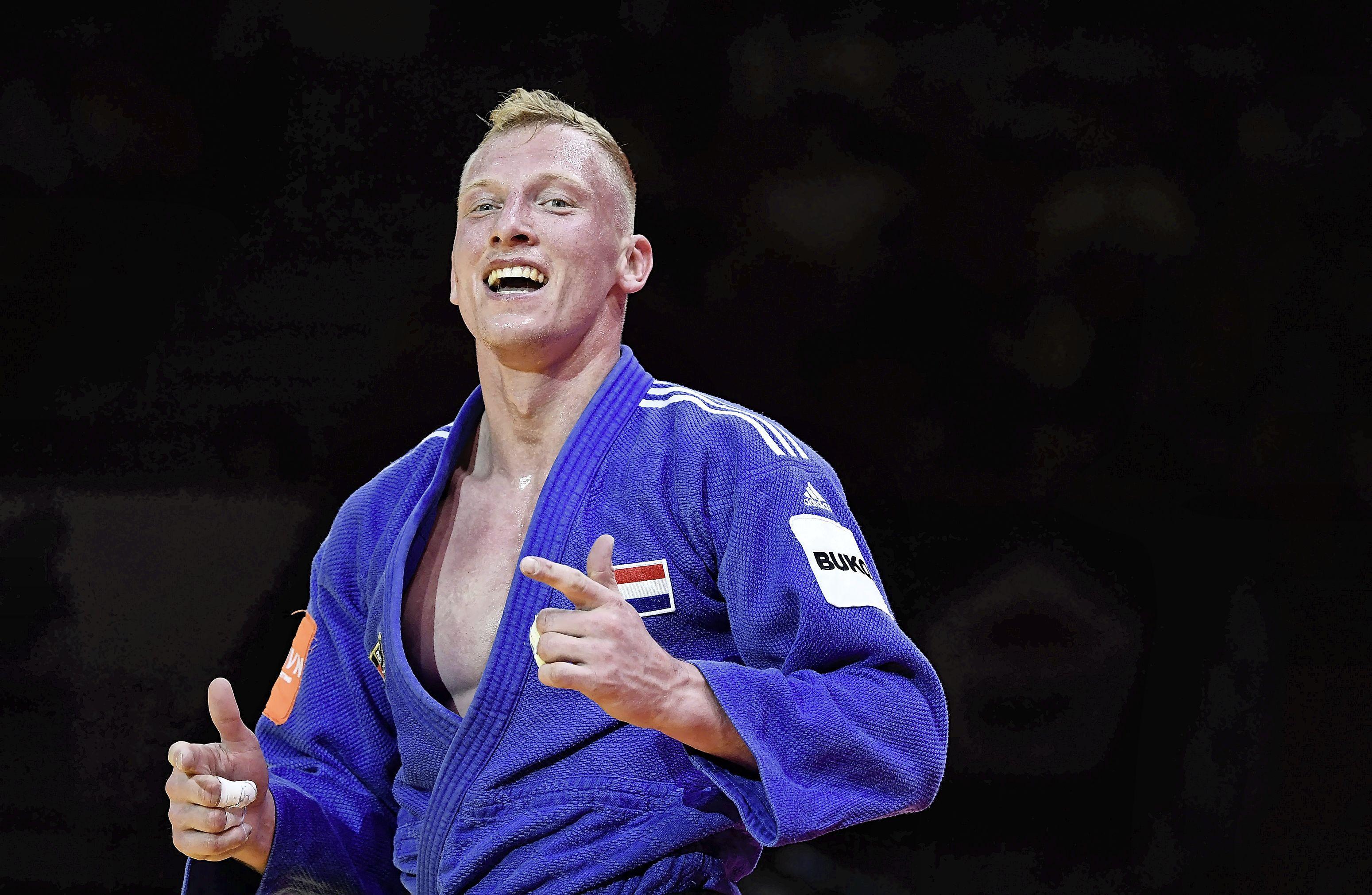 Judoka De Wit na WK-brons: 'Dit is heel mooi voor mij' [video]