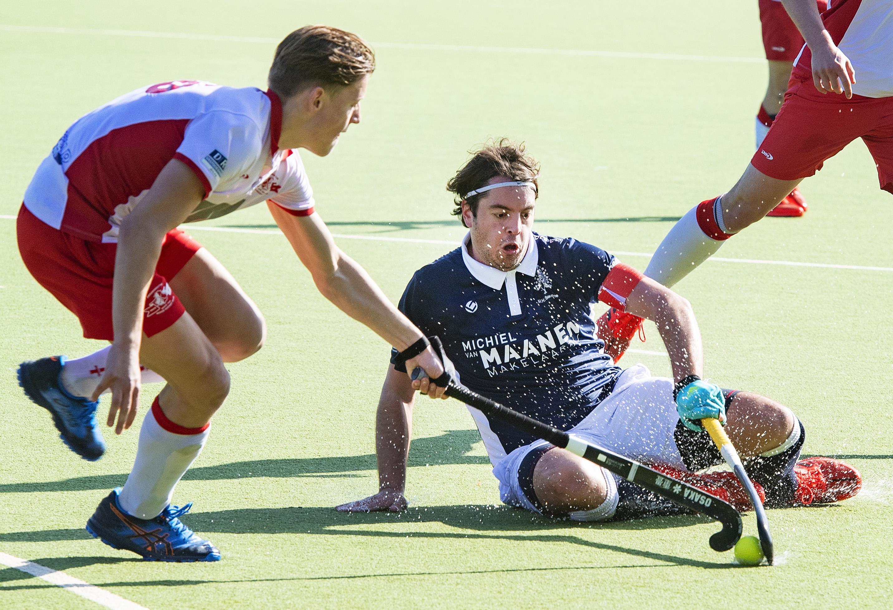 Bennebroek ziet 'winnende' doelpunt afgekeurd worden in derby tegen Rood-Wit