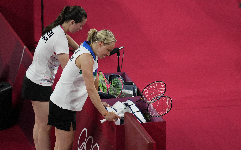 Badmintonduo Piek en Seinen uitgeschakeld in kwartfinales