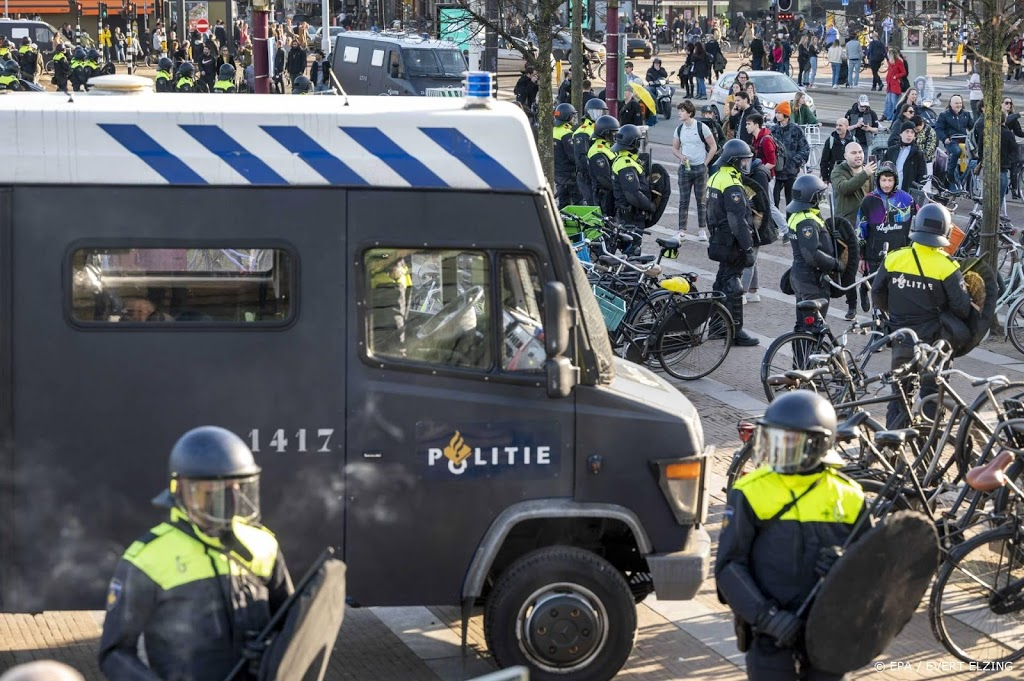 Demonstratie Museumplein ontbonden