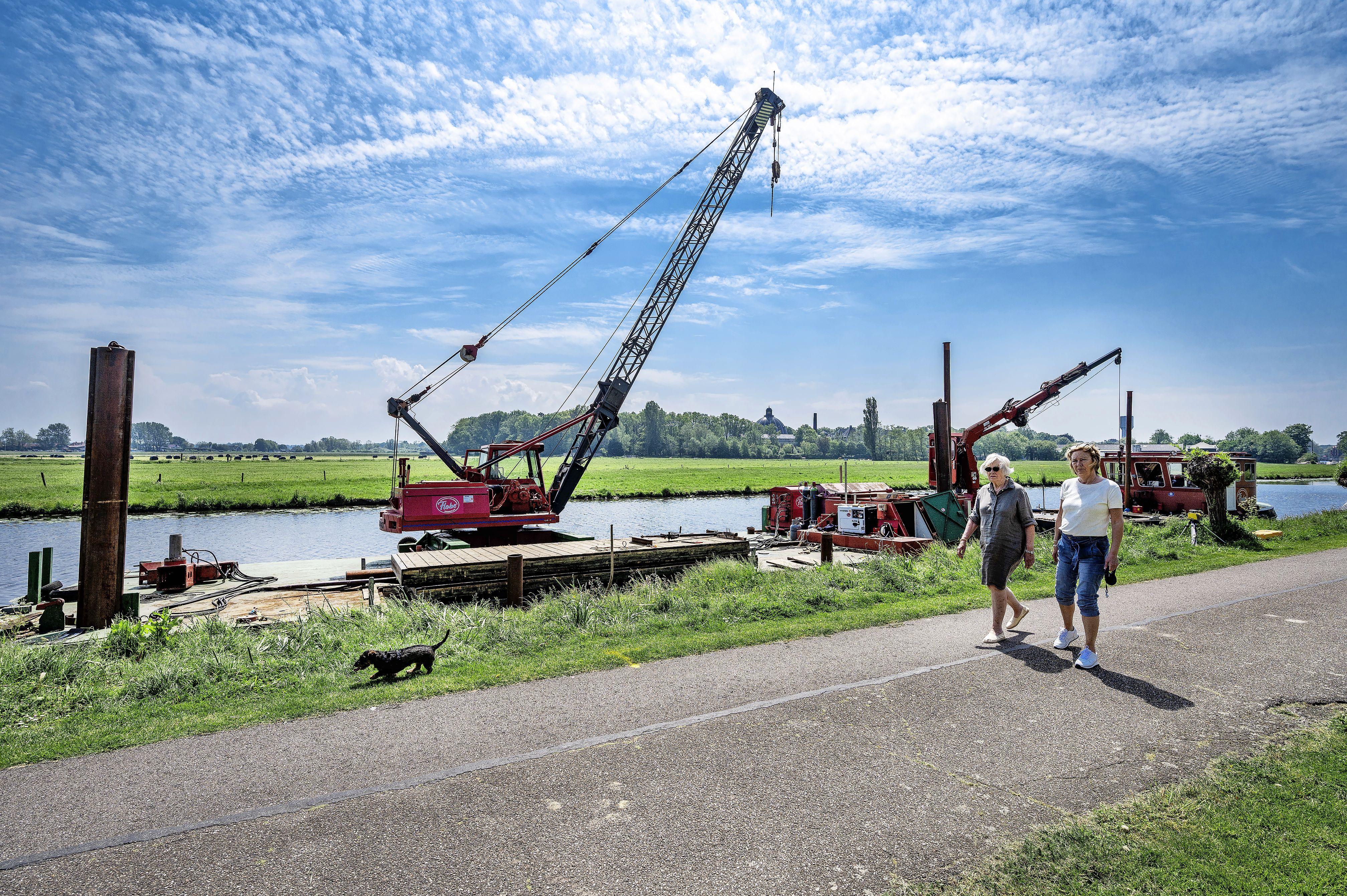 Heemstedenaren boos om nieuwe ligplaats voor schip De Olifant: 'Precies in ons gezichtsveld'
