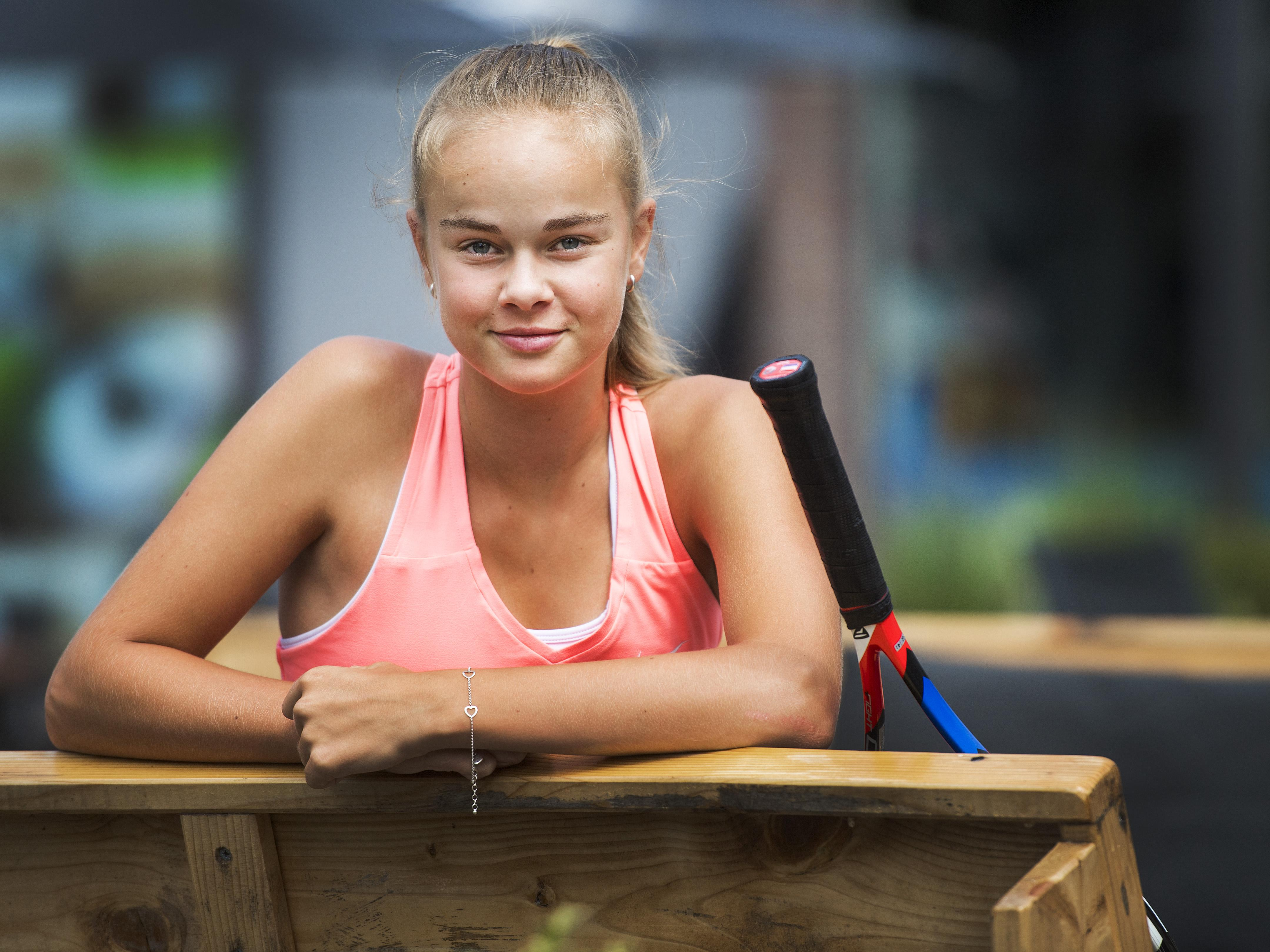 Ook Paul Haarhuis geniet van Bente Spee, het zeventienjarige tennistalent uit Heemstede: 'Ik kan de winnaarsmentaliteit van Bente absoluut waarderen'