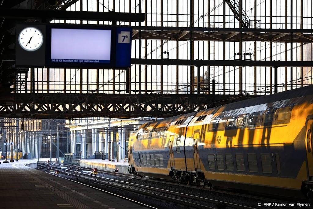 Opnieuw minder treinen door tekort aan verkeersleiders