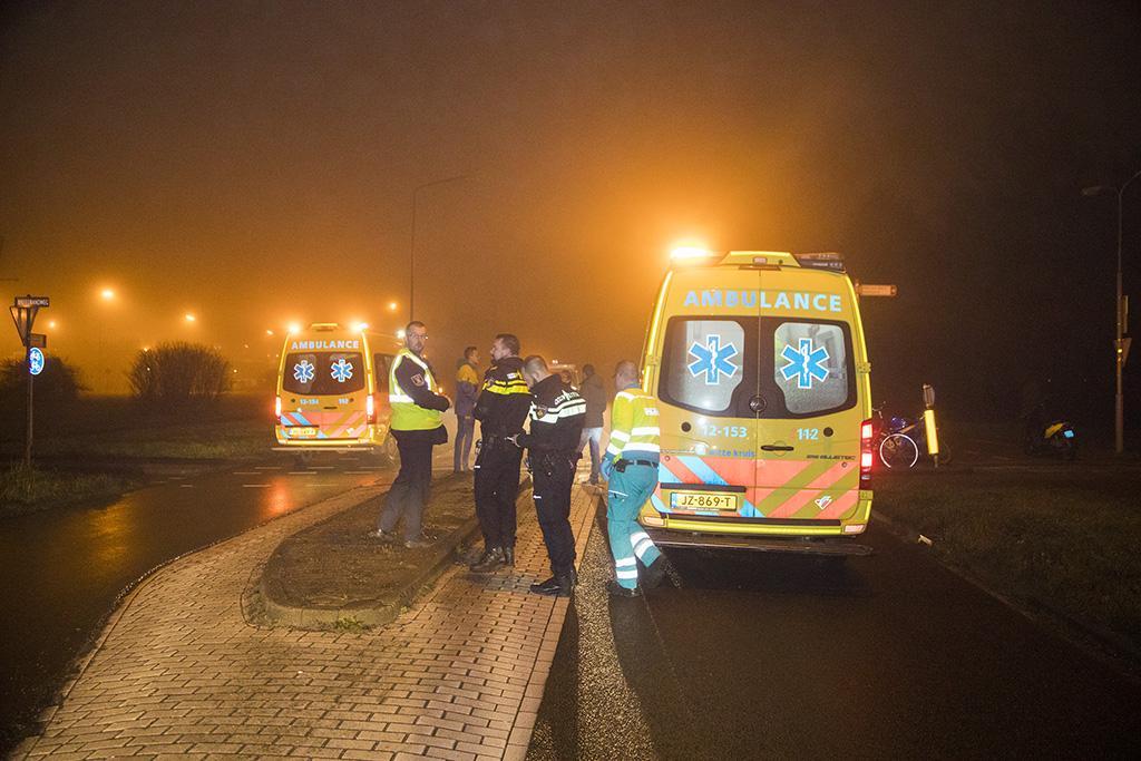 Twee gewonden bij aanrijding op Breedbandweg in Velsen-Noord