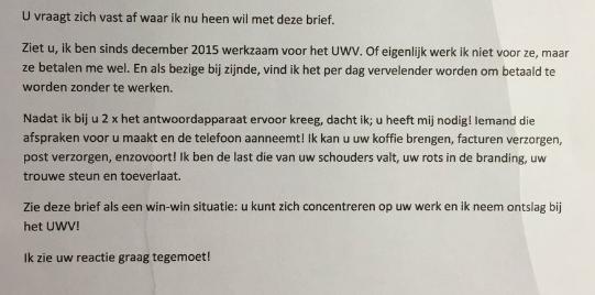 sollicitatiebrief bezorger Grappige sollicitatie om antwoordapparaat | Opmerkelijk | Telegraaf.nl sollicitatiebrief bezorger