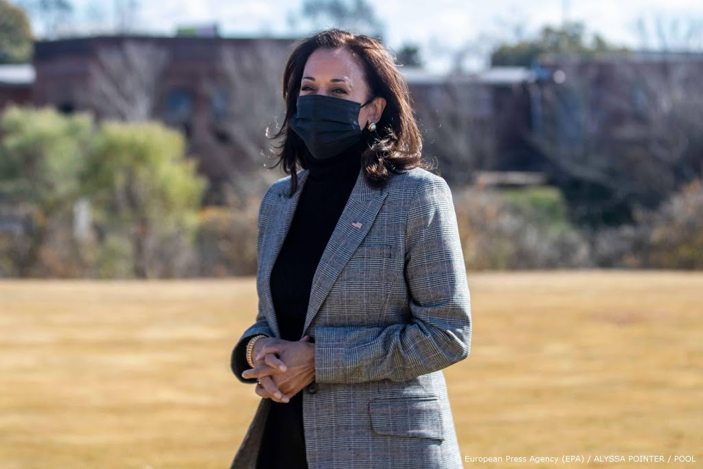 Kamala Harris als eerste vrouw beëdigd als vicepresident van VS