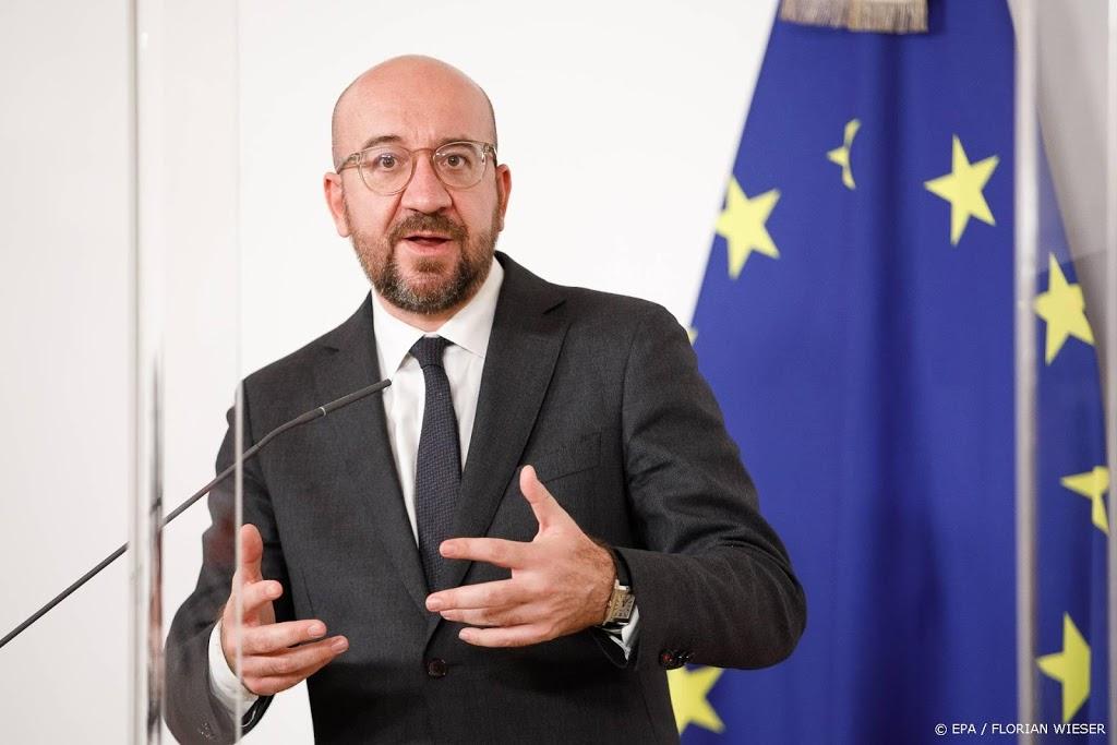 EU-chef Michel roept op tot Europees instituut voor imamopleiding