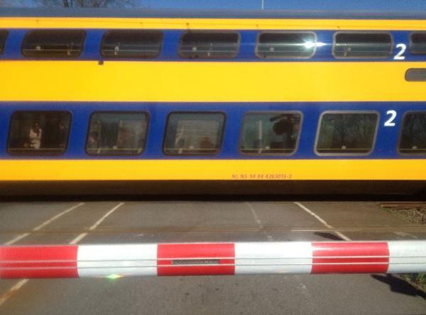 Minder treinen tussen Weesp en Almere