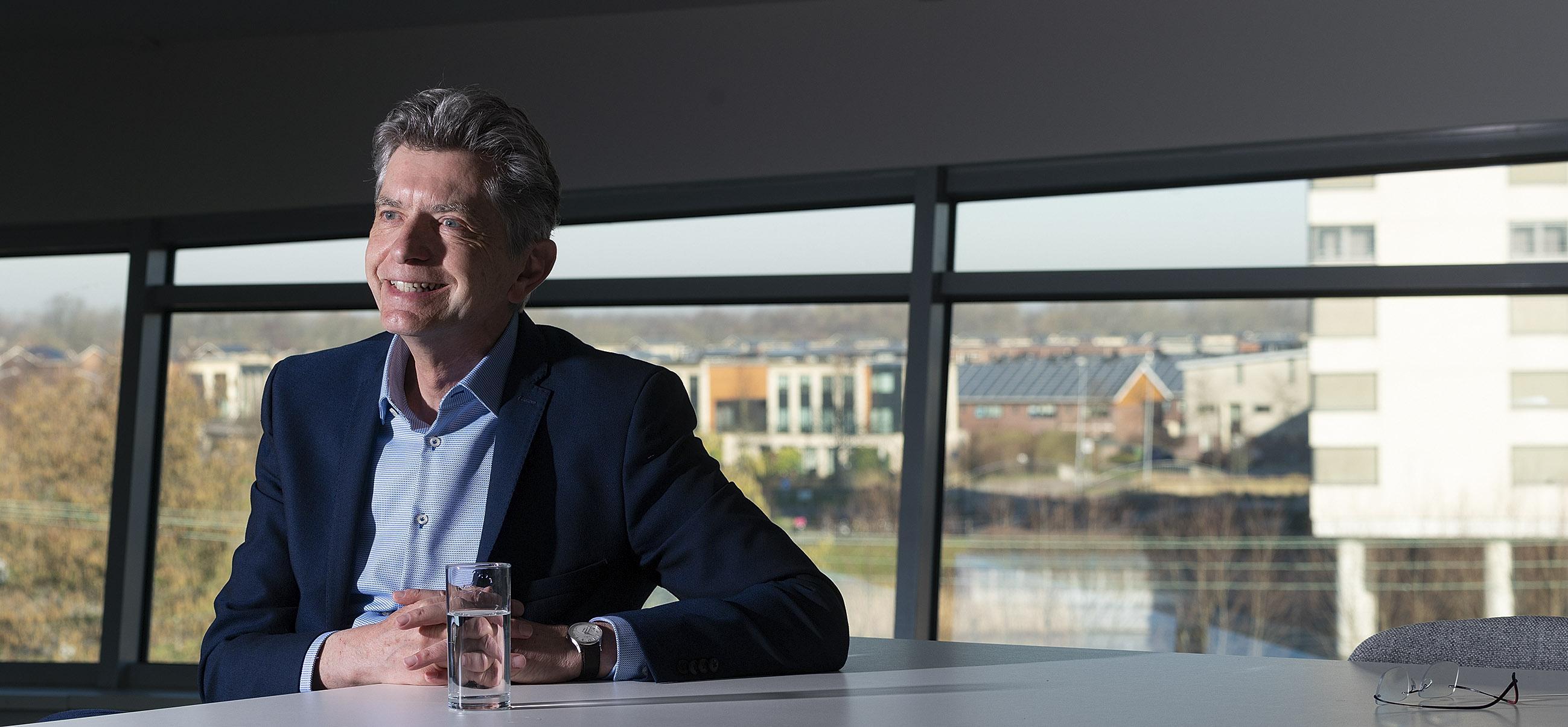 Woonwaard-directeur Pierre Sponselee zwaait af: 'Huizenbouw moet veel vloeiender' worden