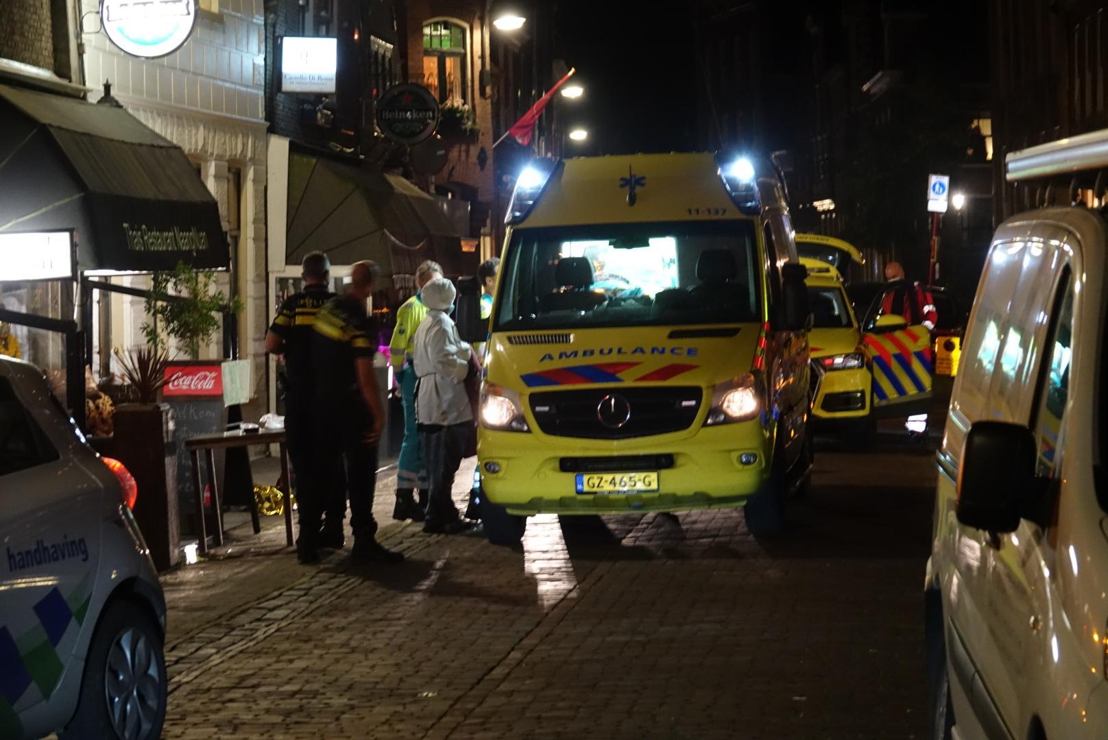 Twee personen in restaurant in Monnickendam gewond bij steekpartij