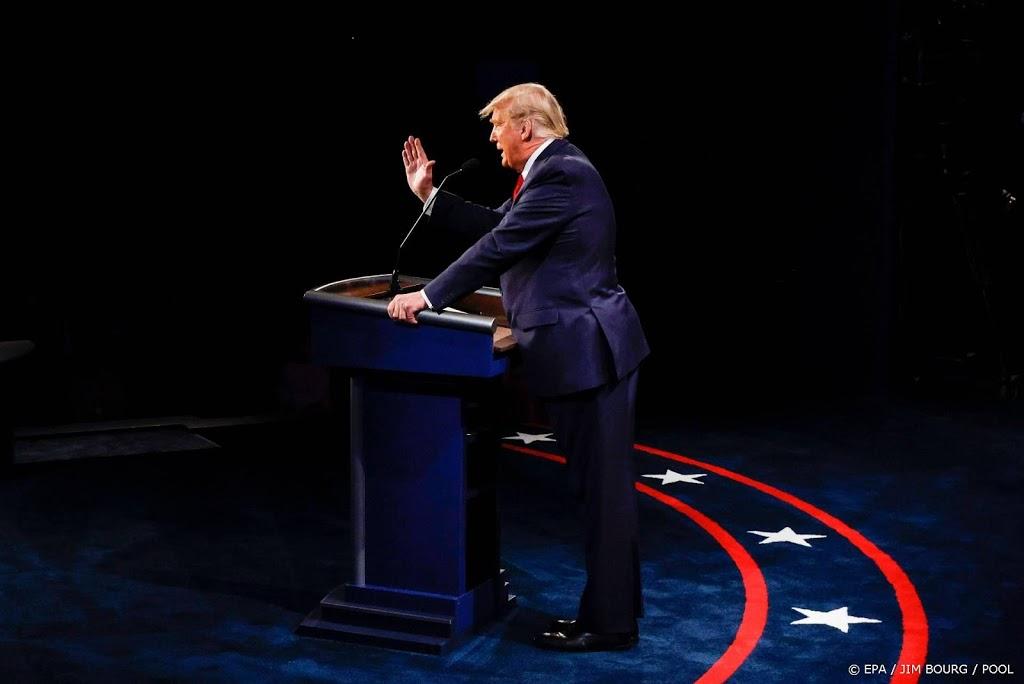 Trump: ik ben de minst racistische persoon in deze ruimte