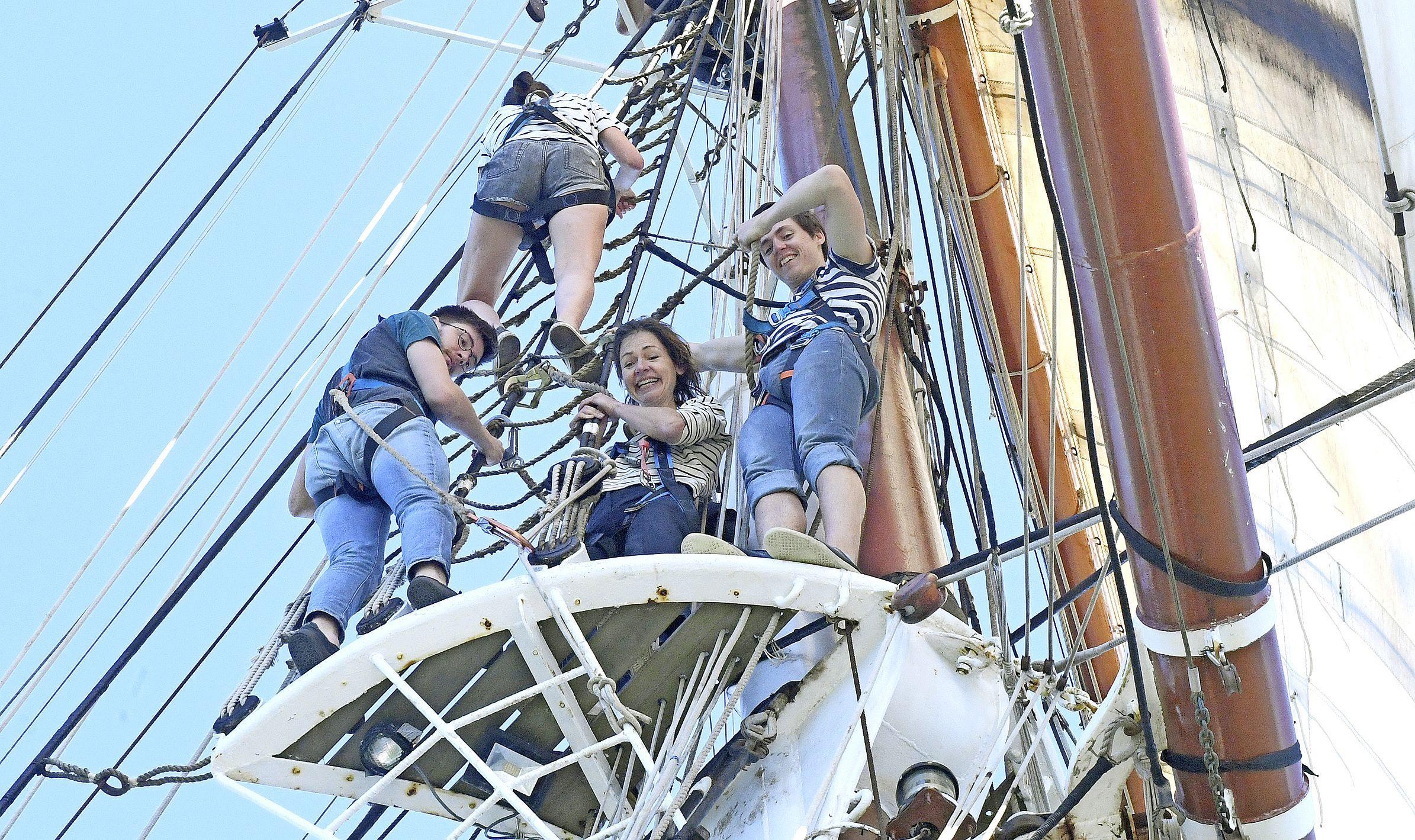 De zee op met zeilboot De Morgenster die binnenkort naar Sint Maarten vaart: 'Na die ene tweet stroomden de aanmeldingen binnen'