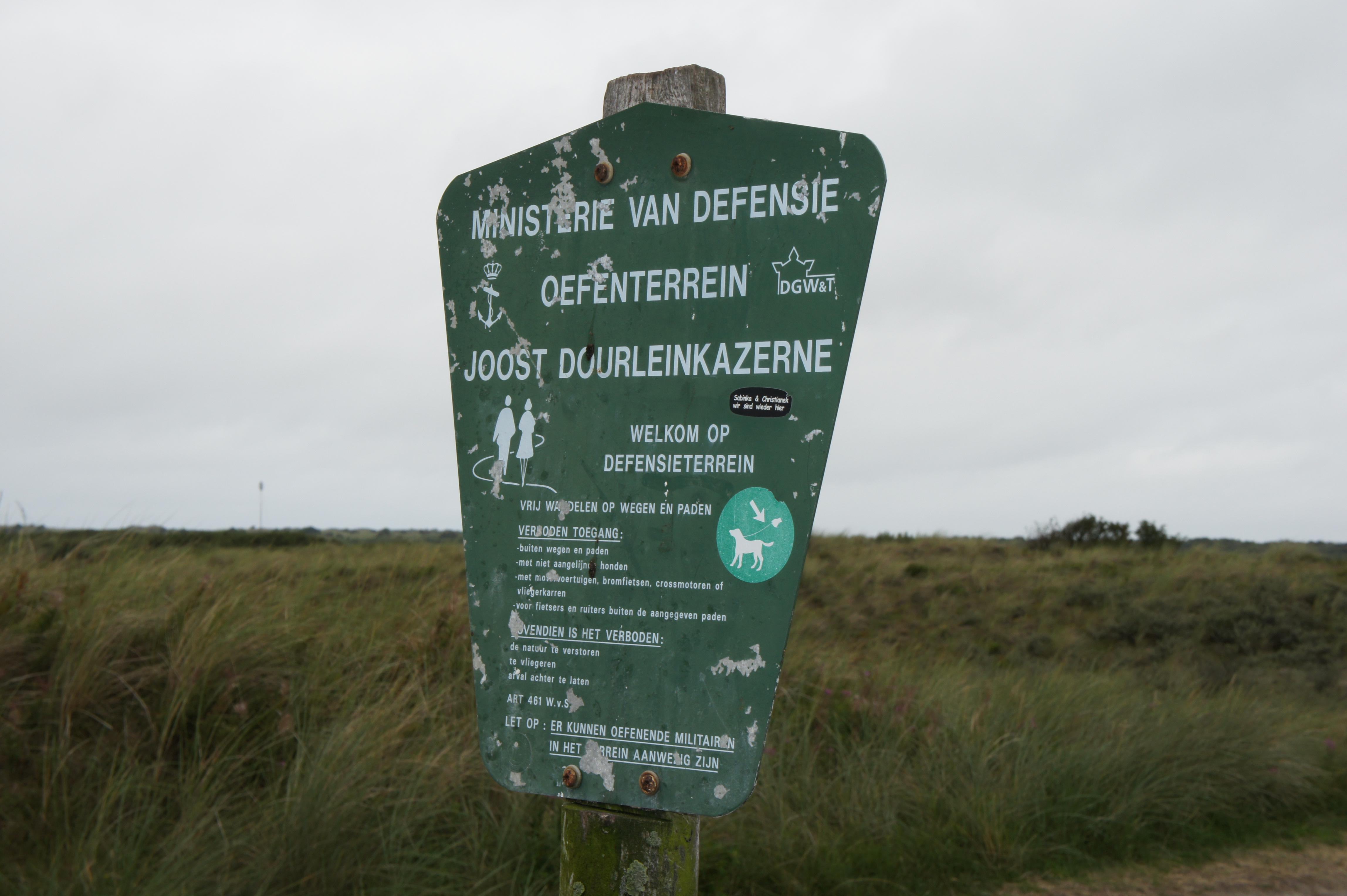 Motorcrosser uit Soest opgepakt voor vernielen militair terrein