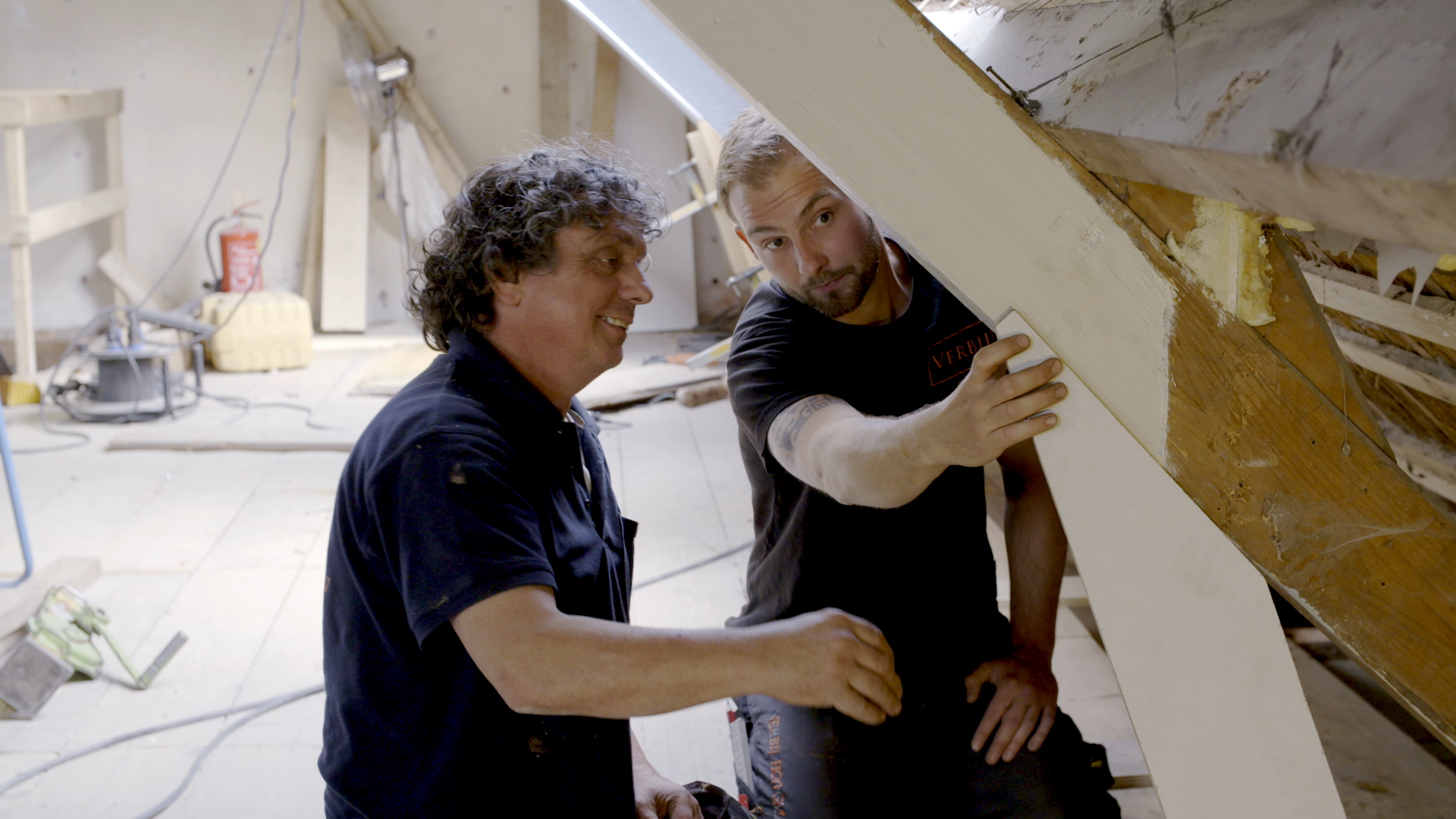Lang leve de meester en zijn gezel bij bouw- en molenmakersbedrijf Verbij in Hoogmade [video]