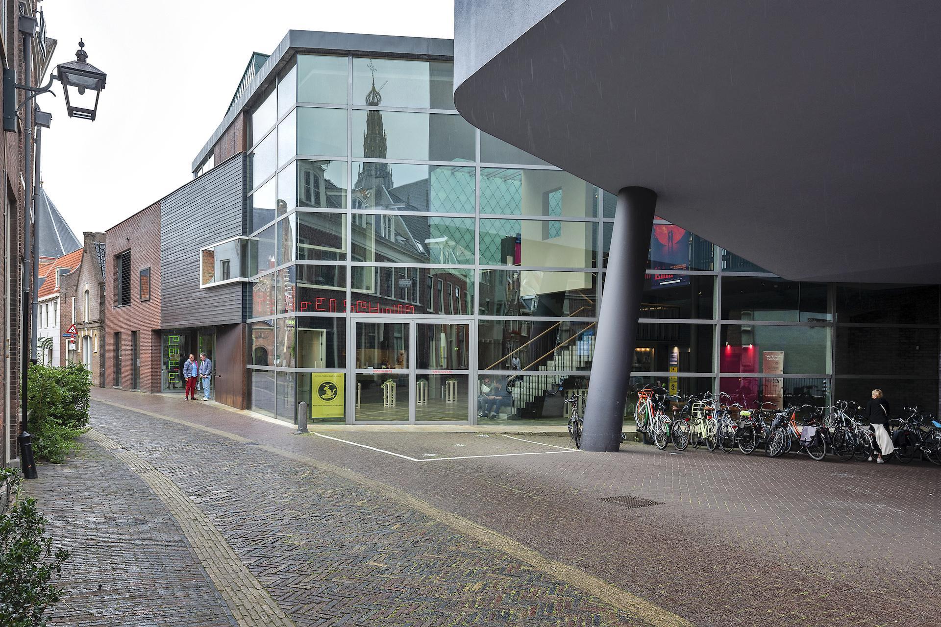 Voorlopig even geen theater in Toneelschuur Haarlem, filmpje pakken kan wel gewoon