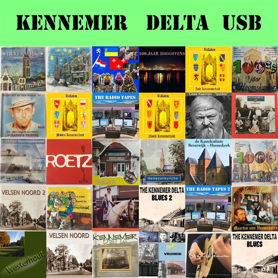 Jan Schrama uit Beverwijk brengt dertig albums uit op een 'stickie' in een cd-doosje