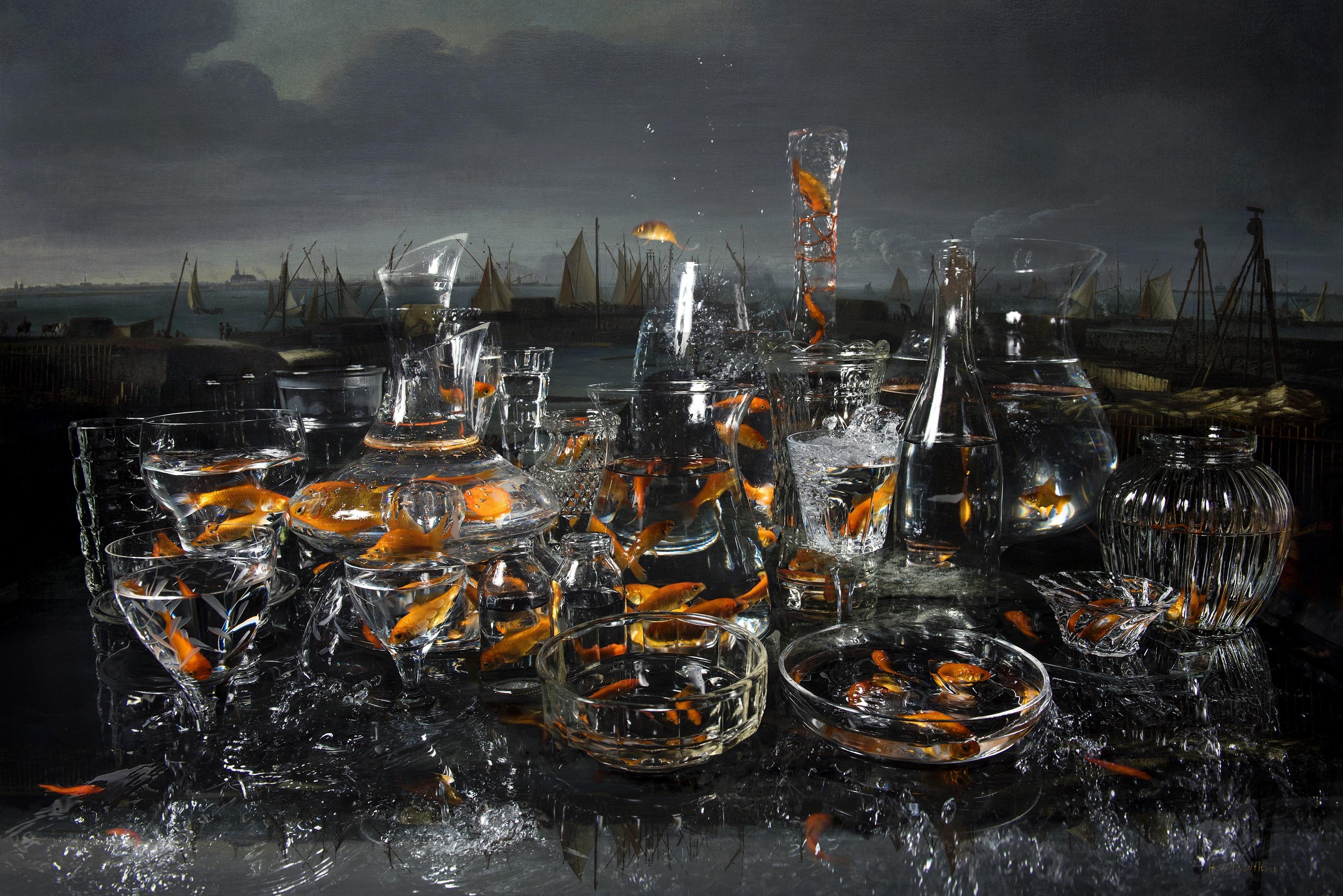Fotokunstenaar Withoos overbrugt 350 jaar in Hoorn