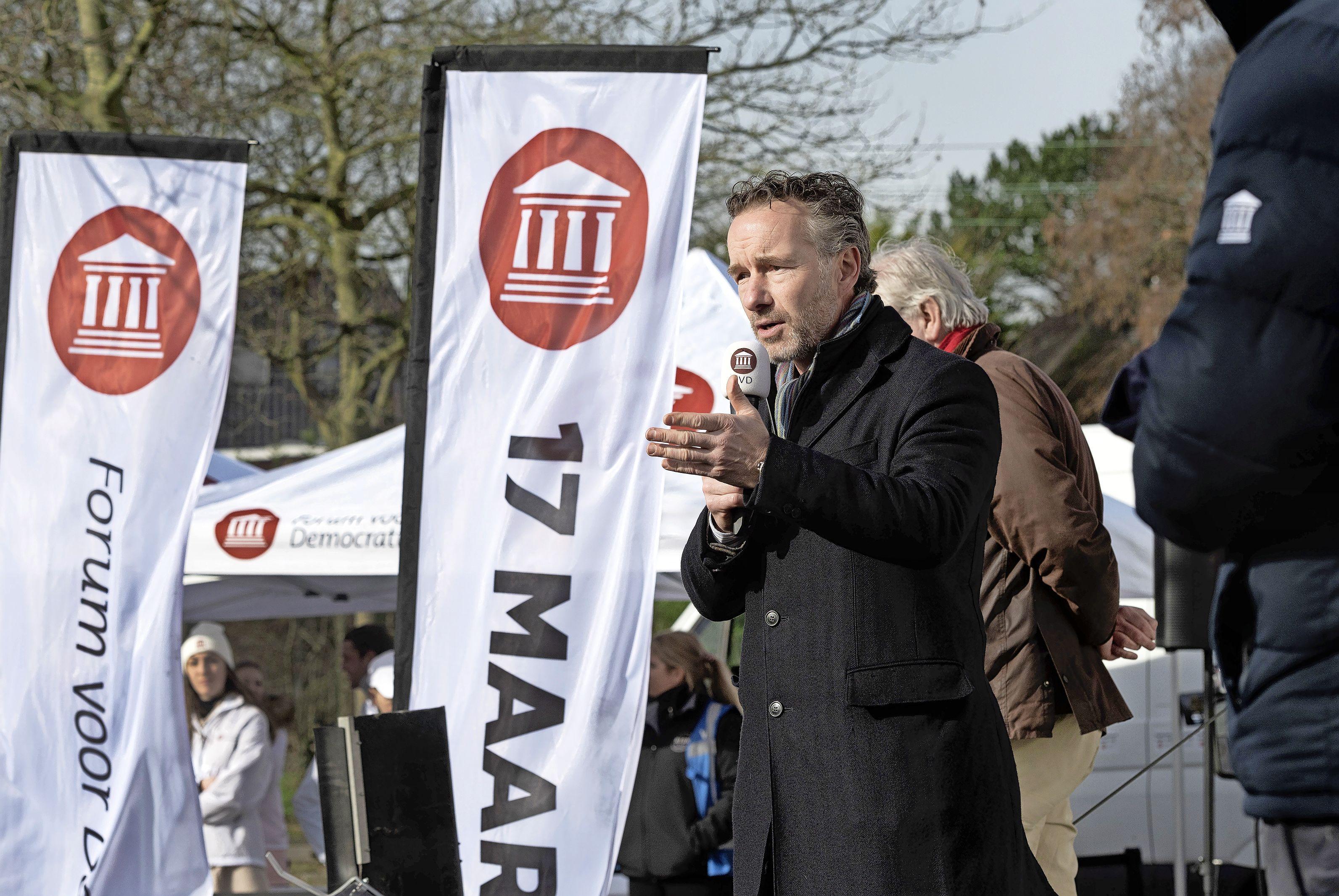 Wybren van Haga (Forum voor Democratie) zag verkiezingszege aankomen: 'Mensen hebben gekozen voor hun vrijheid'