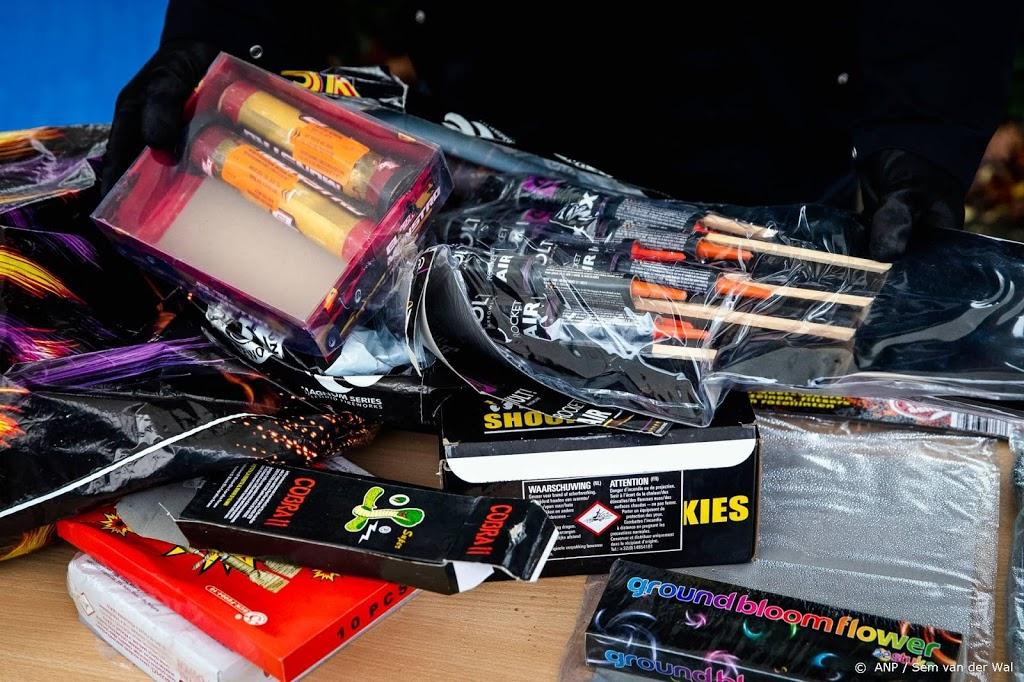 Laatste inzameldag van vuurwerk in Amsterdam
