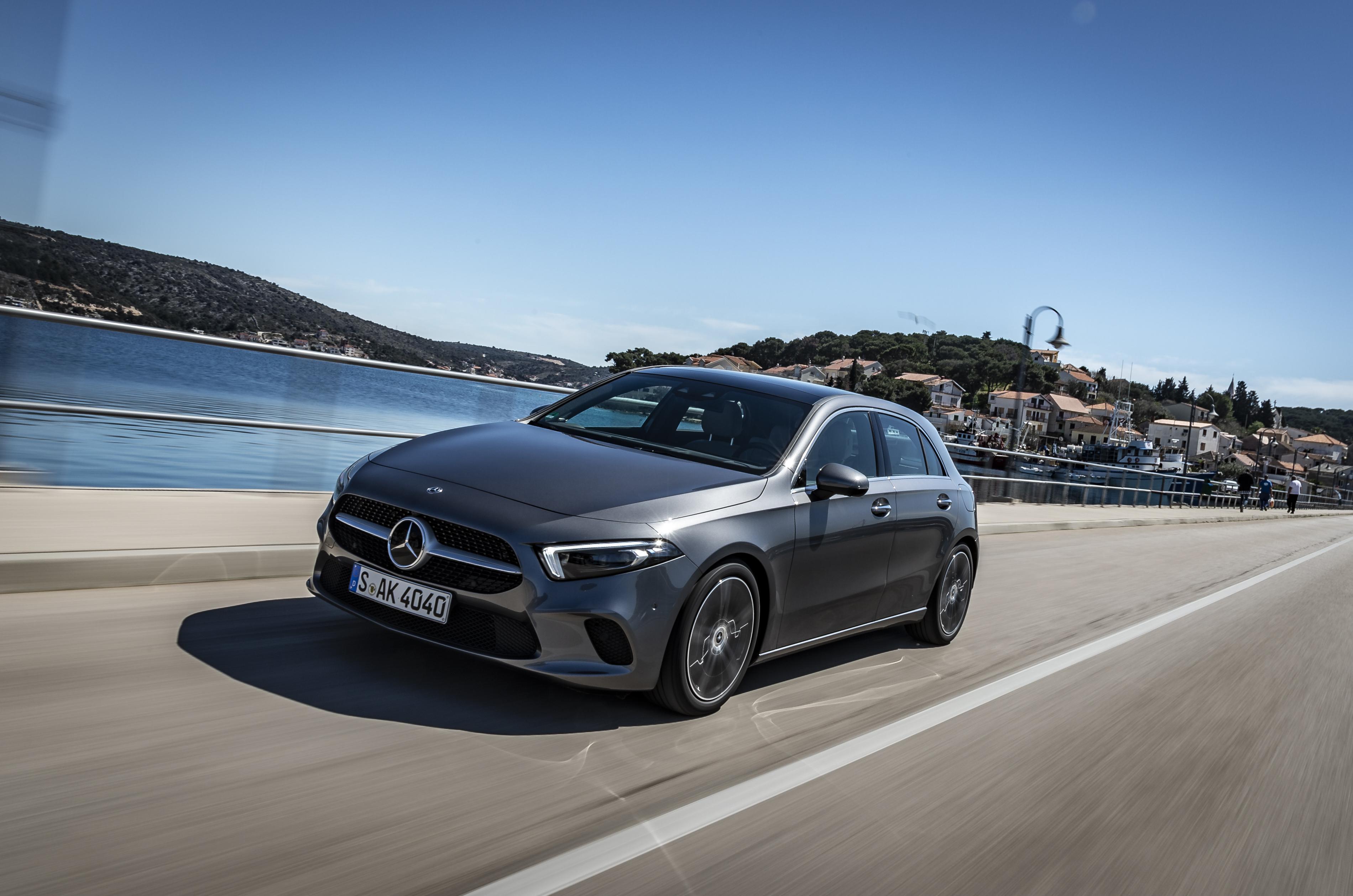 Test Mercedes Benz A Klasse 2018 Vrij Telegraaf Nl