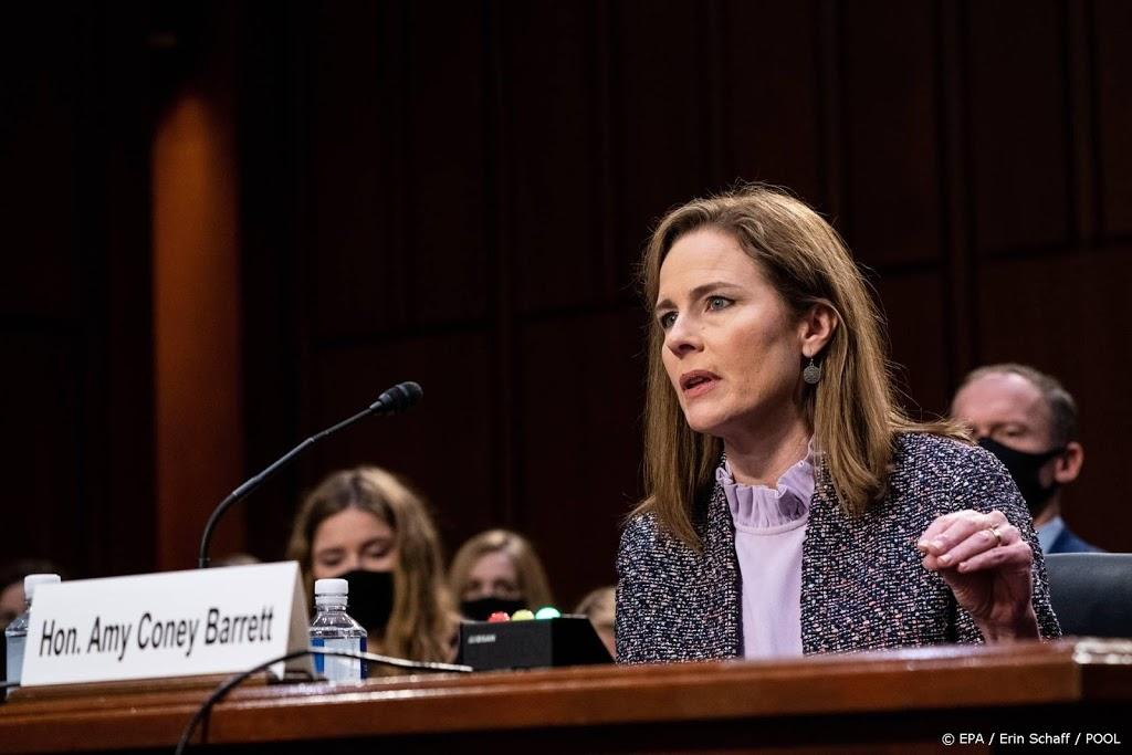 Kandidaat Hooggerechtshof VS houdt zich nogmaals op de vlakte